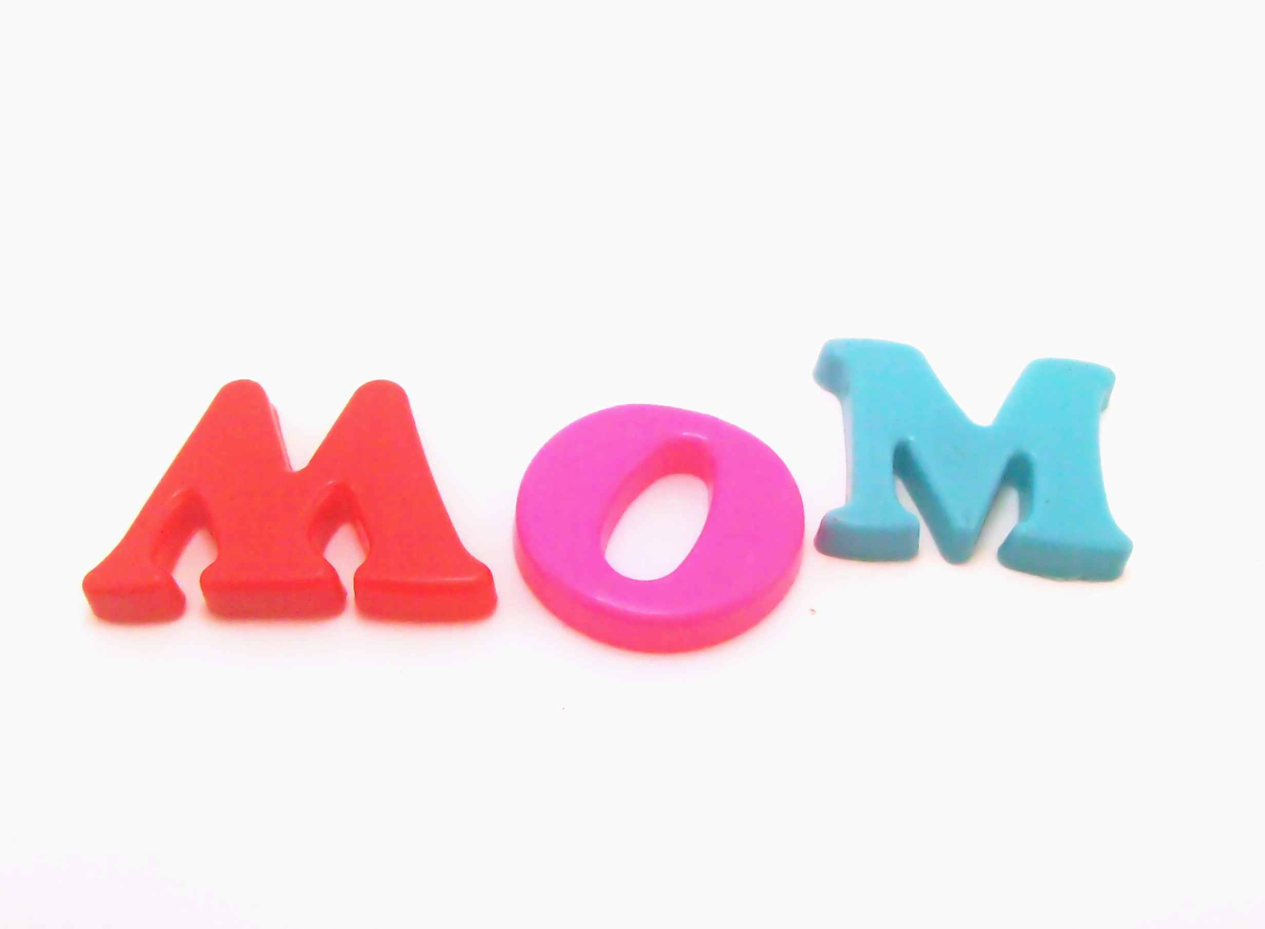 Free Photo Plastic Letters  Mom  Play Toy Plastic  Non