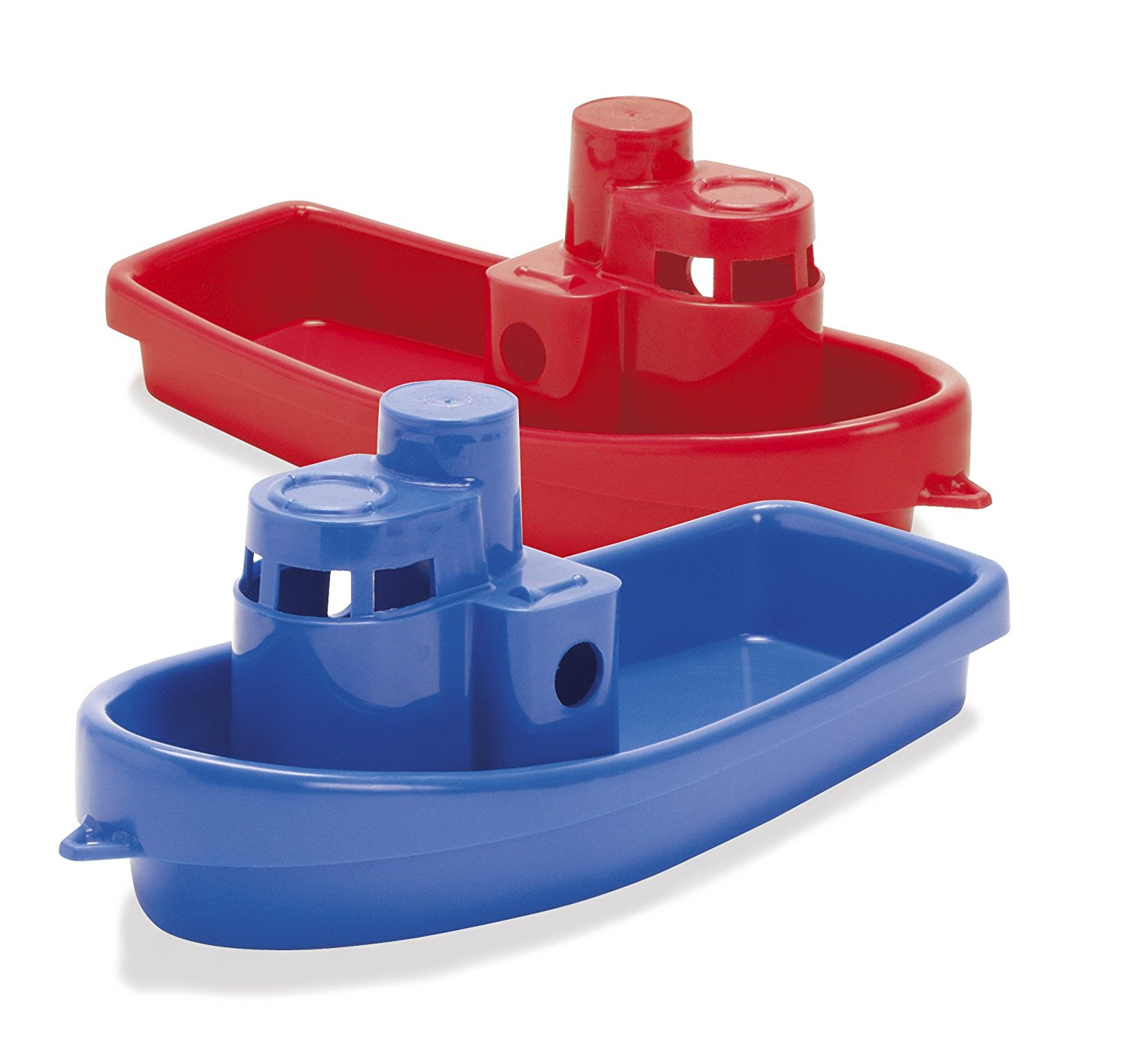 Amazon.com: Dantoy Stacking Tug Boat Color: Red: Toys & Games