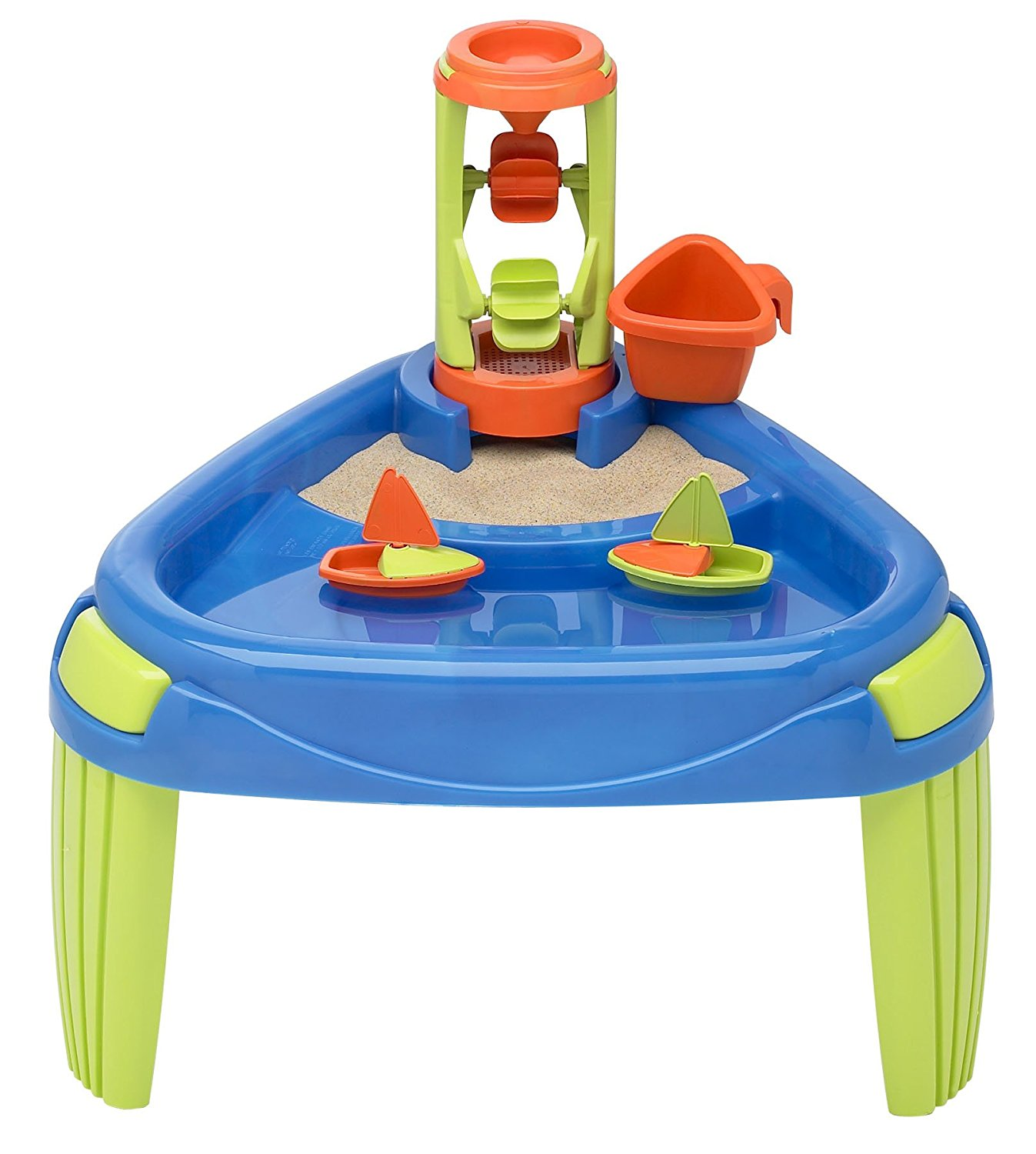 Amazon.com: American Plastic Toy Water Wheel Play Table: Toys & Games