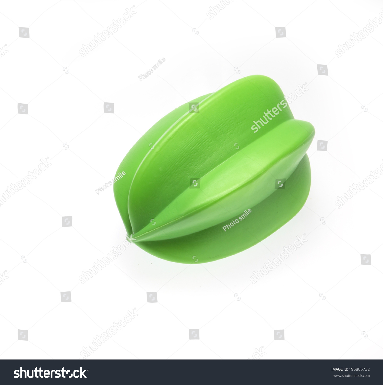Green Star Apple Plastic Toy Stock Photo (Royalty Free) 196805732 ...