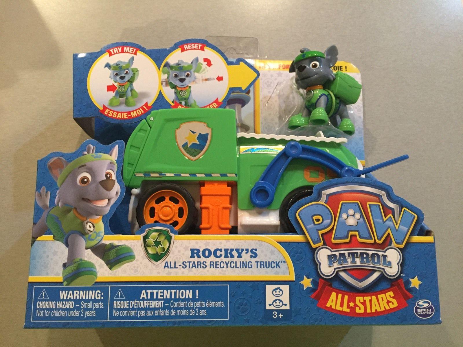 Image - Rocky's All-Stars Recycling Truck.jpg | PAW Patrol Wiki ...