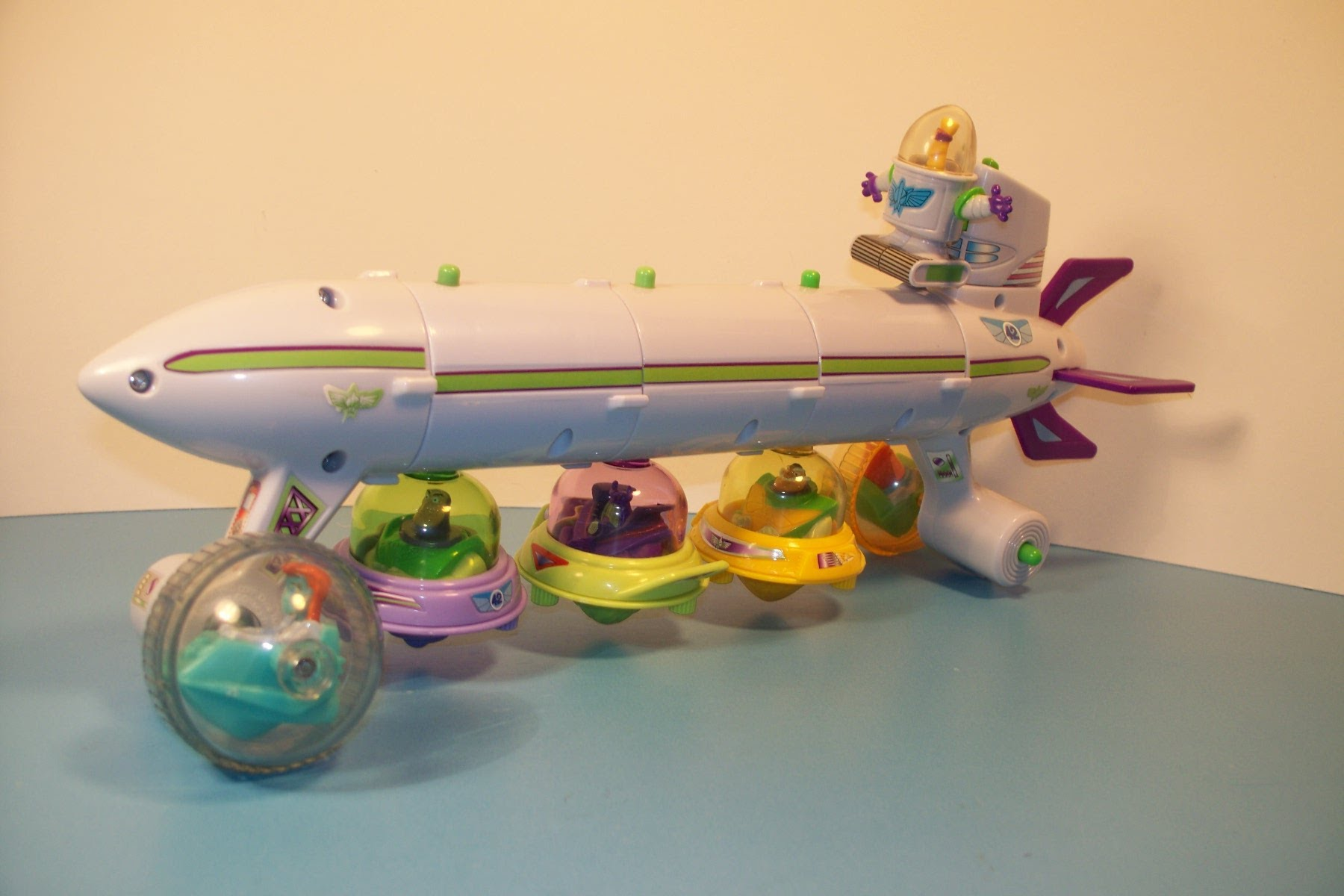 2001 DISNEY TOY STORY BUZZ LIGHTYEAR of STAR COMMAND SET OF 6 ...
