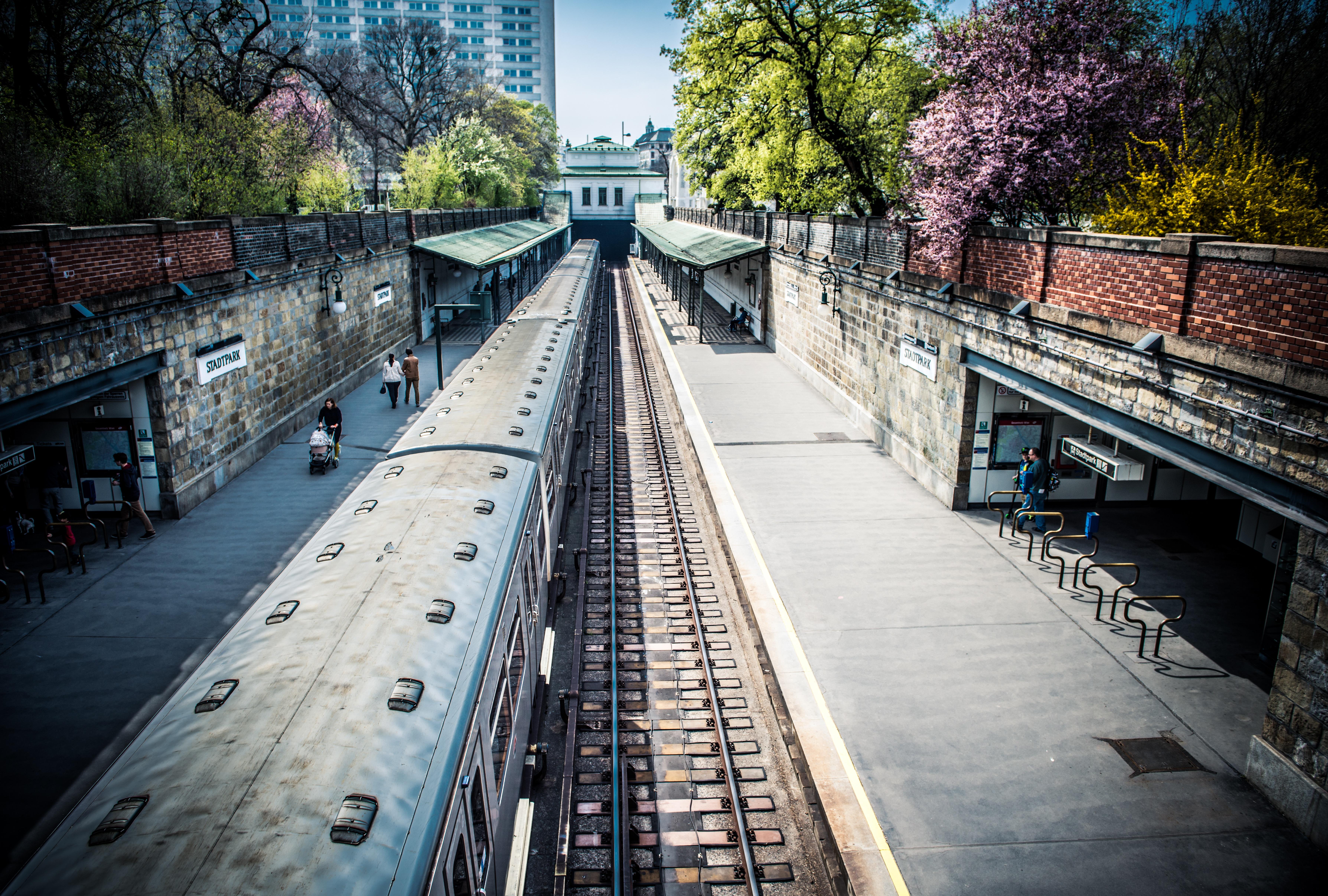 Platform, Transport, Train, Track, Rail, HQ Photo