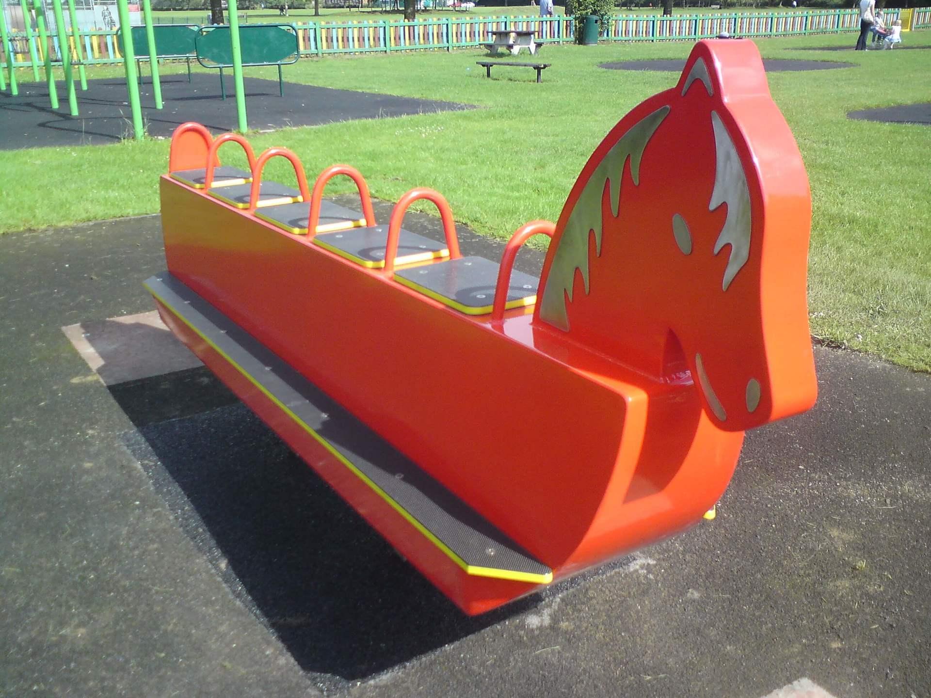 Playground Rocking Horses | Yates Playgrounds
