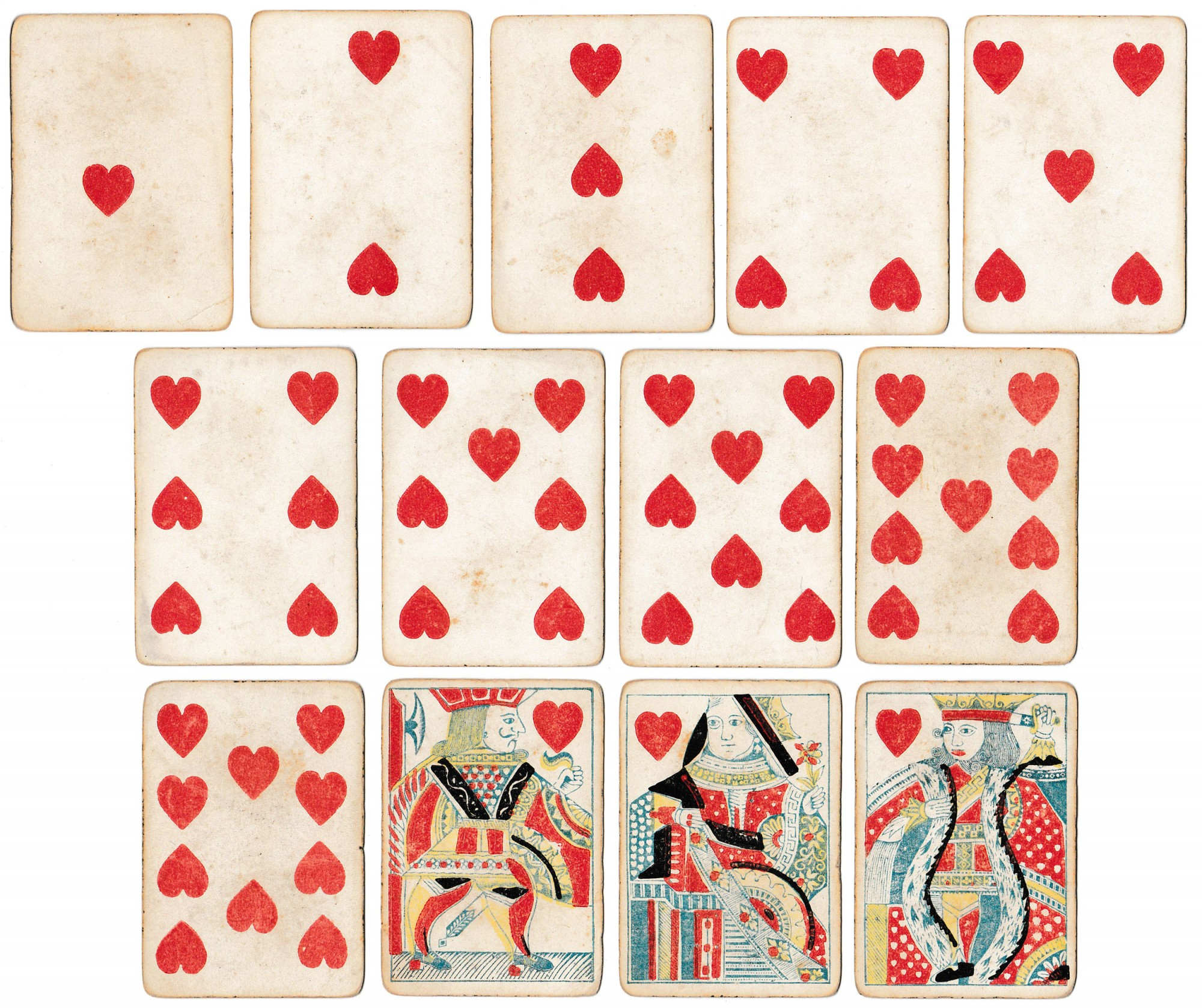 Early American playing cards - Rare & Antique Maps