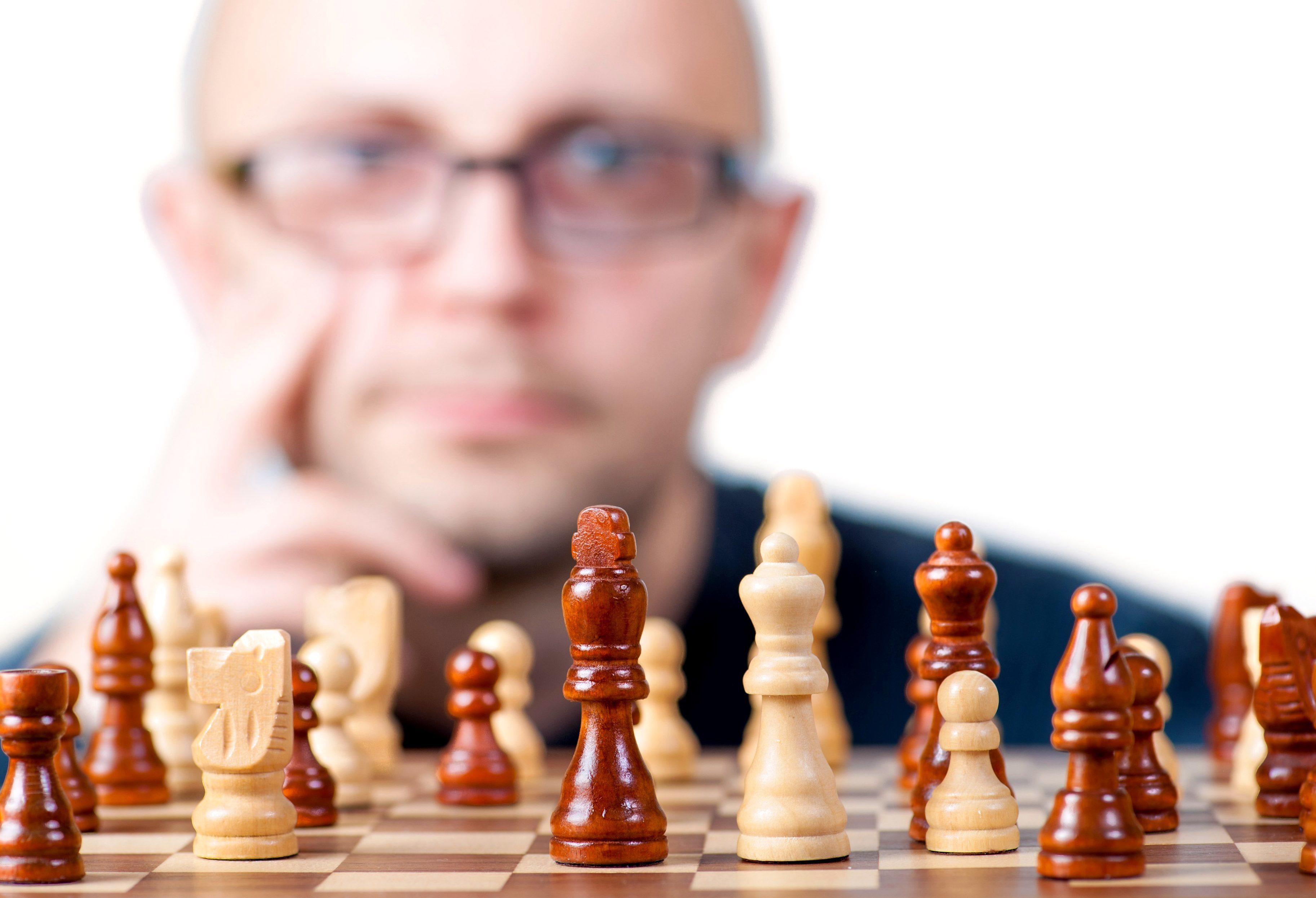 Free picture: man playing chess, game
