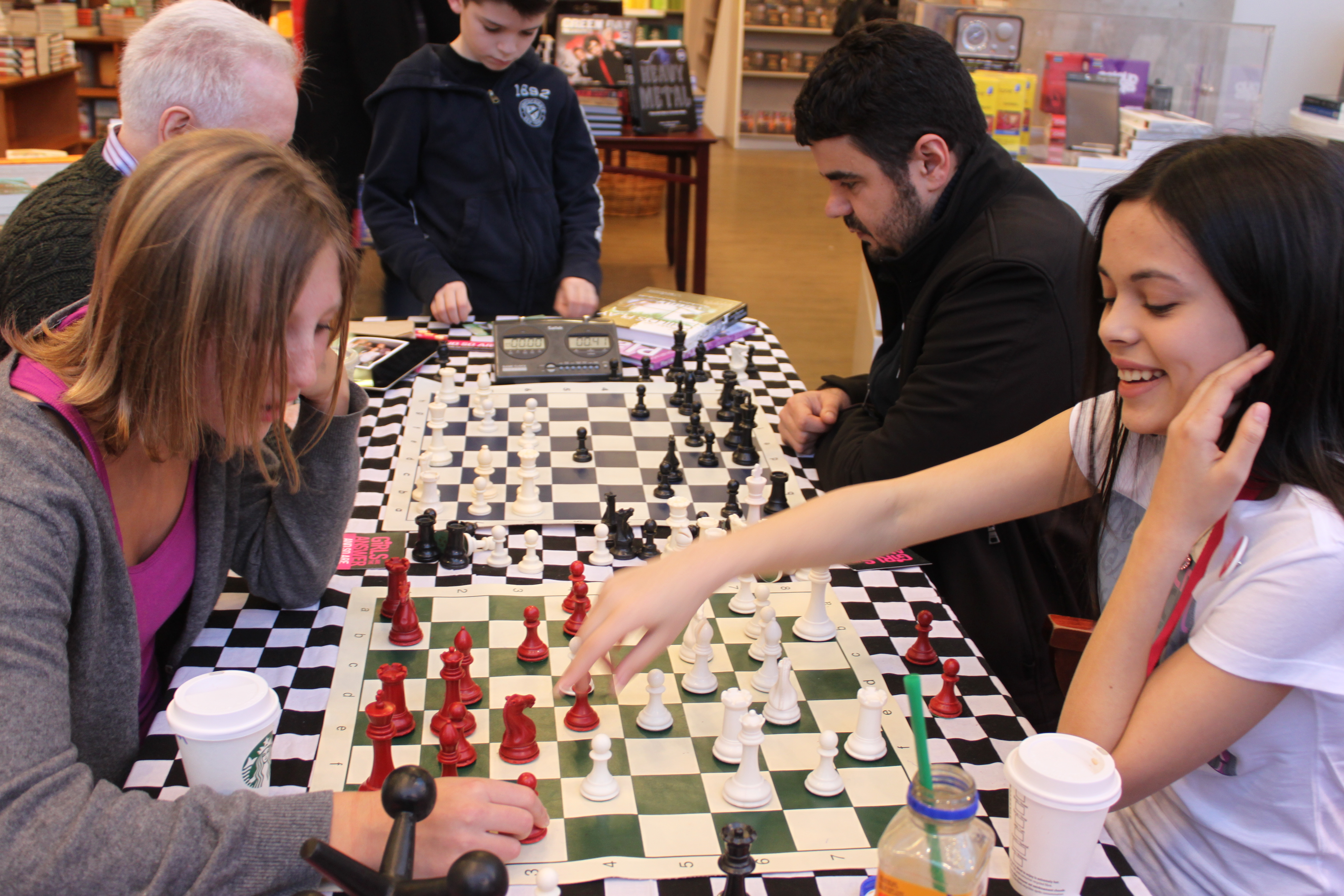 Q & A with Ashley: Playing chess to support girls - Plan Canada ...