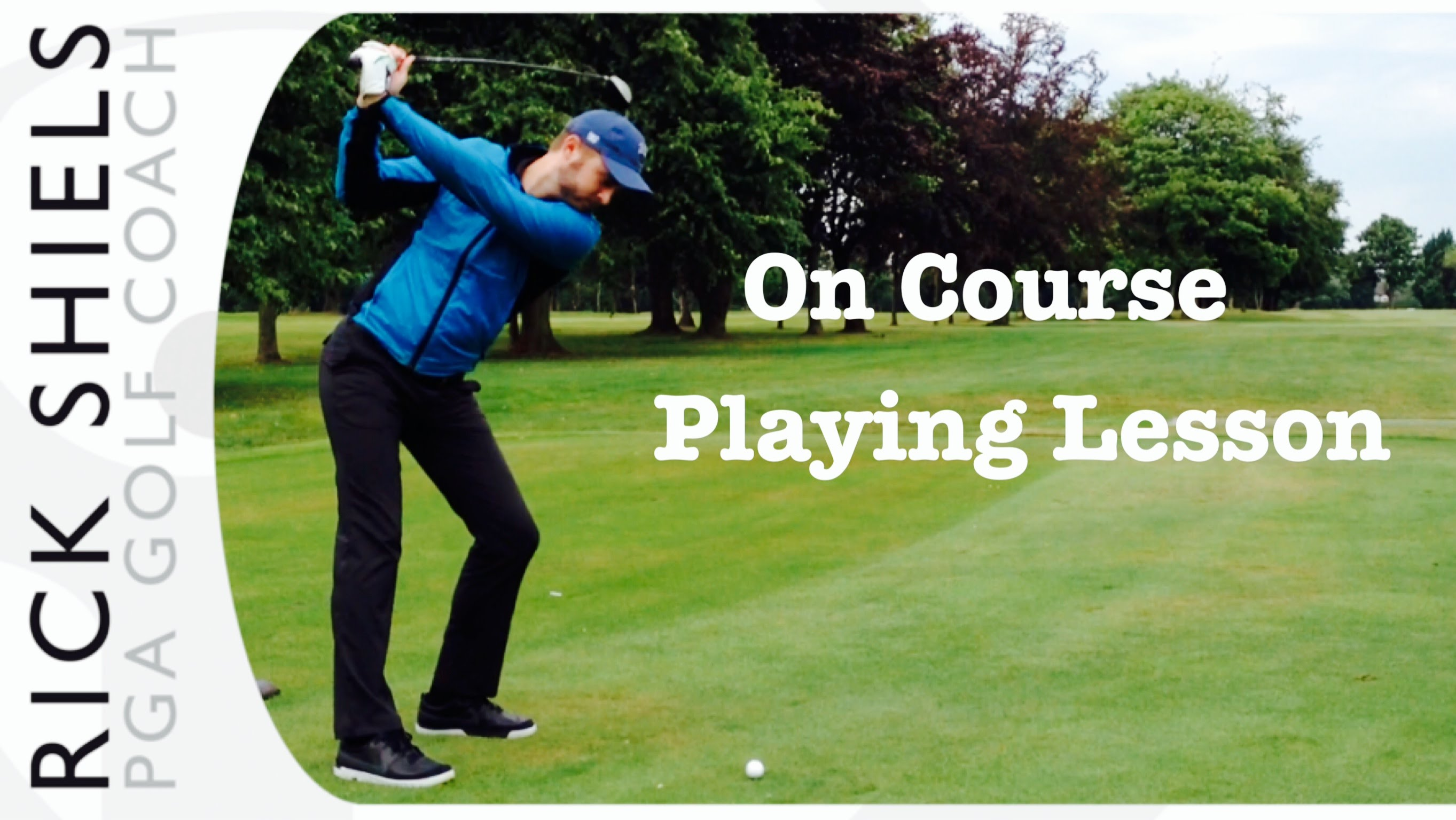 Playing Lesson On The Golf Course - YouTube
