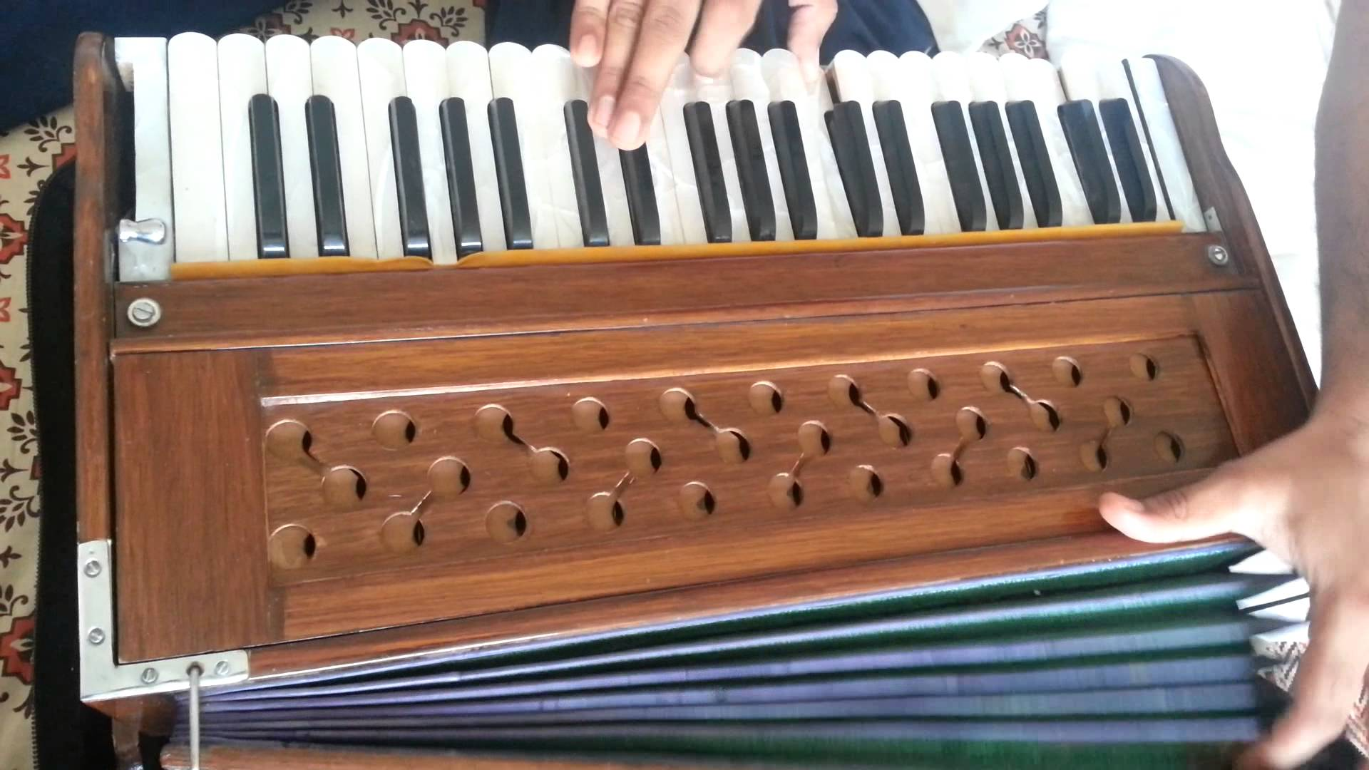 Free photo: Playing Harmonium - Music, Musical, Playing - Free