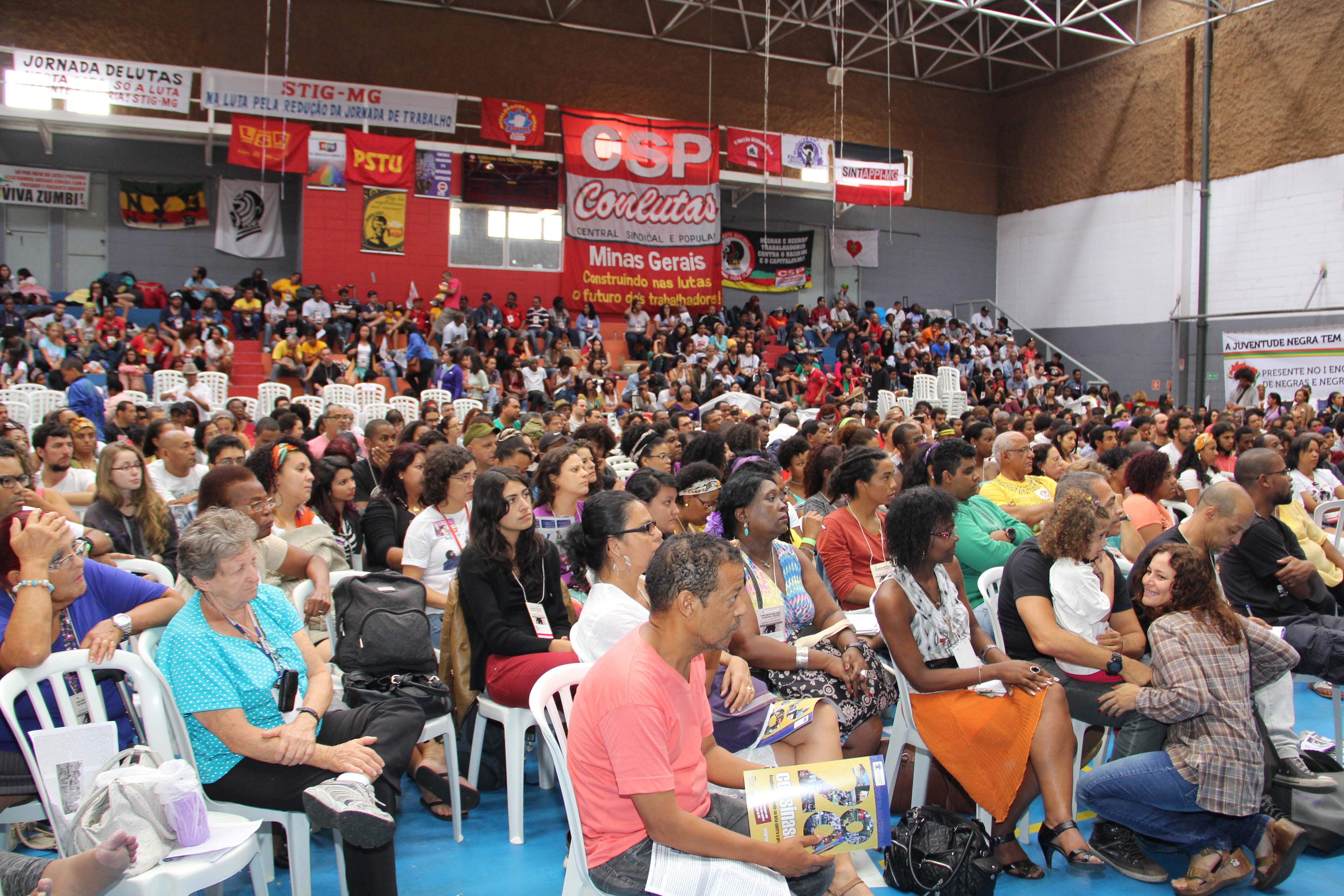 Plenário do 1° encontro nacional de negras e negros photo