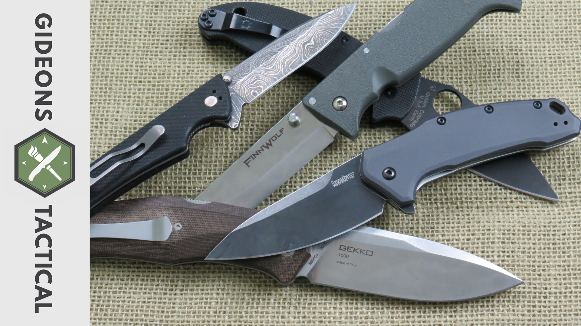 Best Pocket Knives of 2015 - YouTube