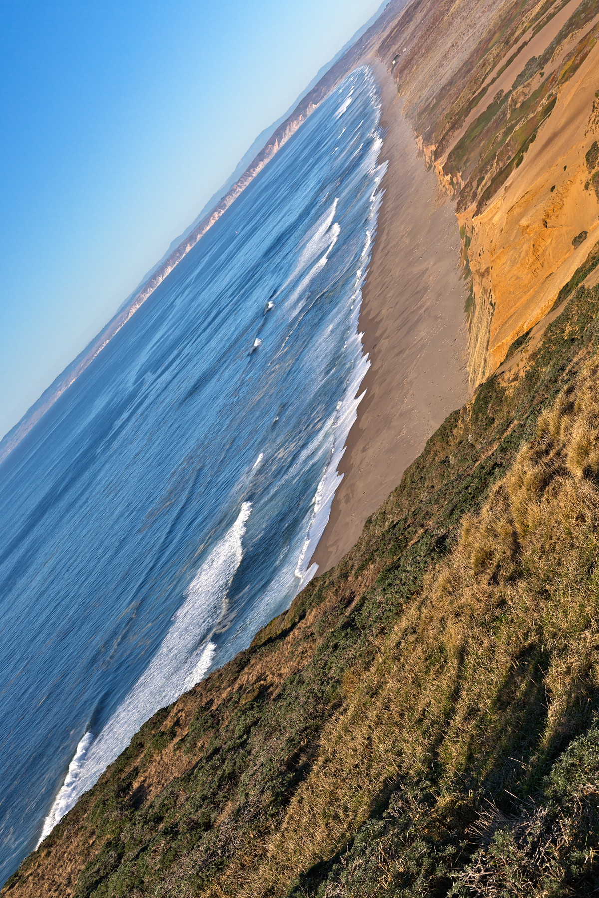 Point reyes coastal scenery - hdr photo