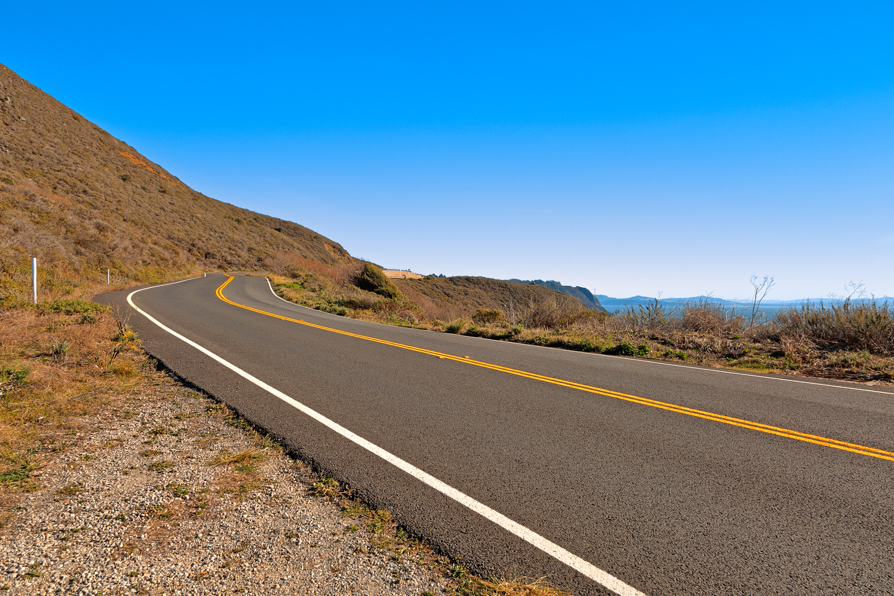 Point Reyes Scenic Route - HDR, America, Point, Shade, Scenic, HQ Photo