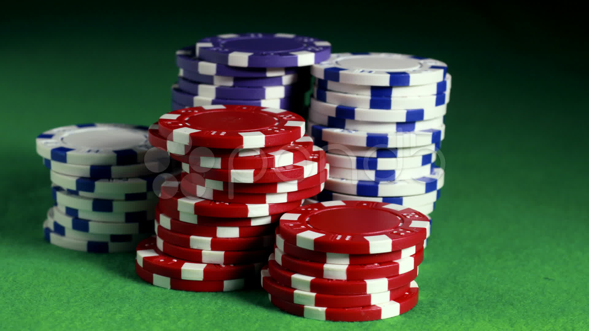 Stock Video: Poker chips stacking up ~ #11148884   Pond5