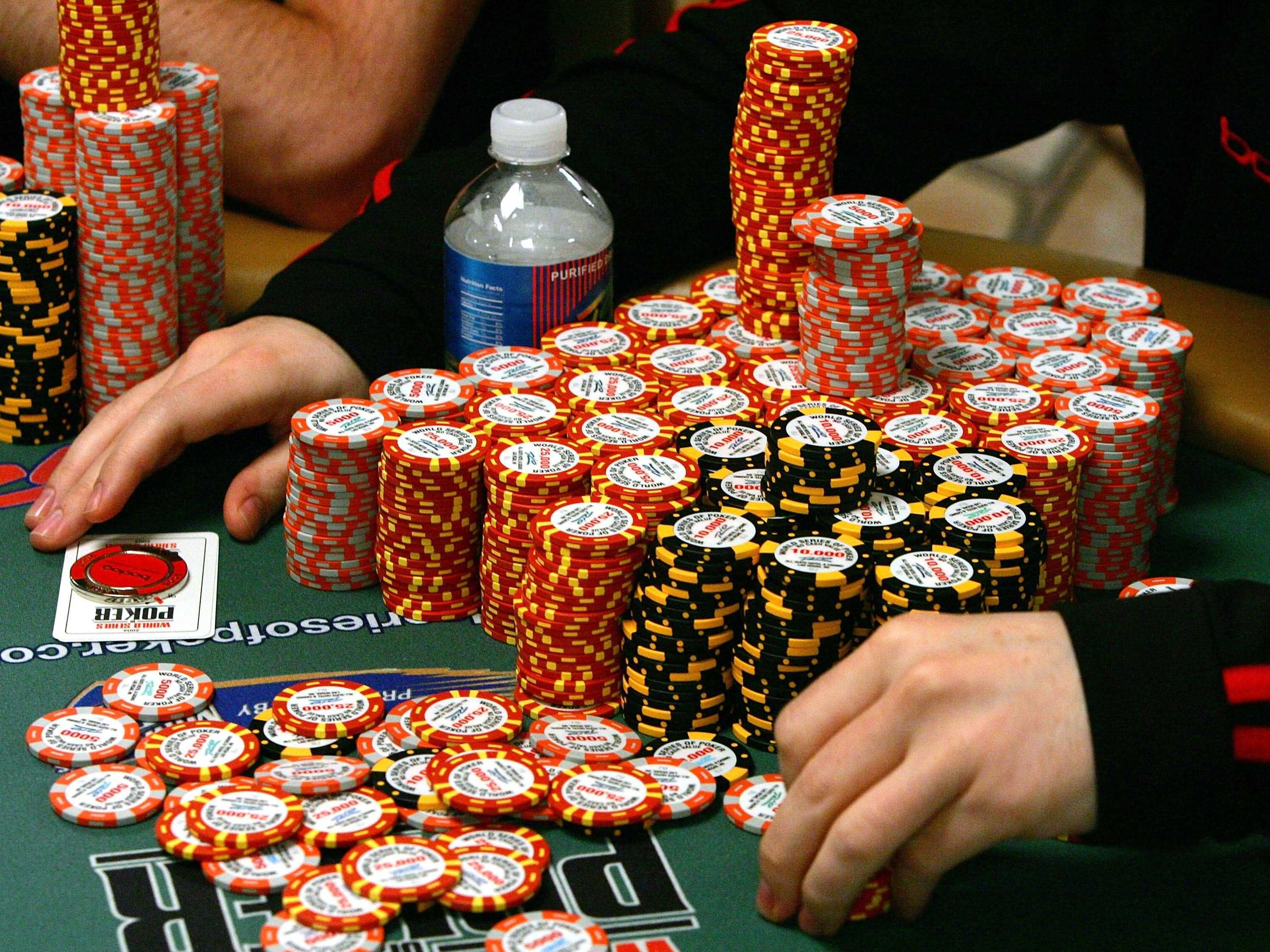 Poker big chips