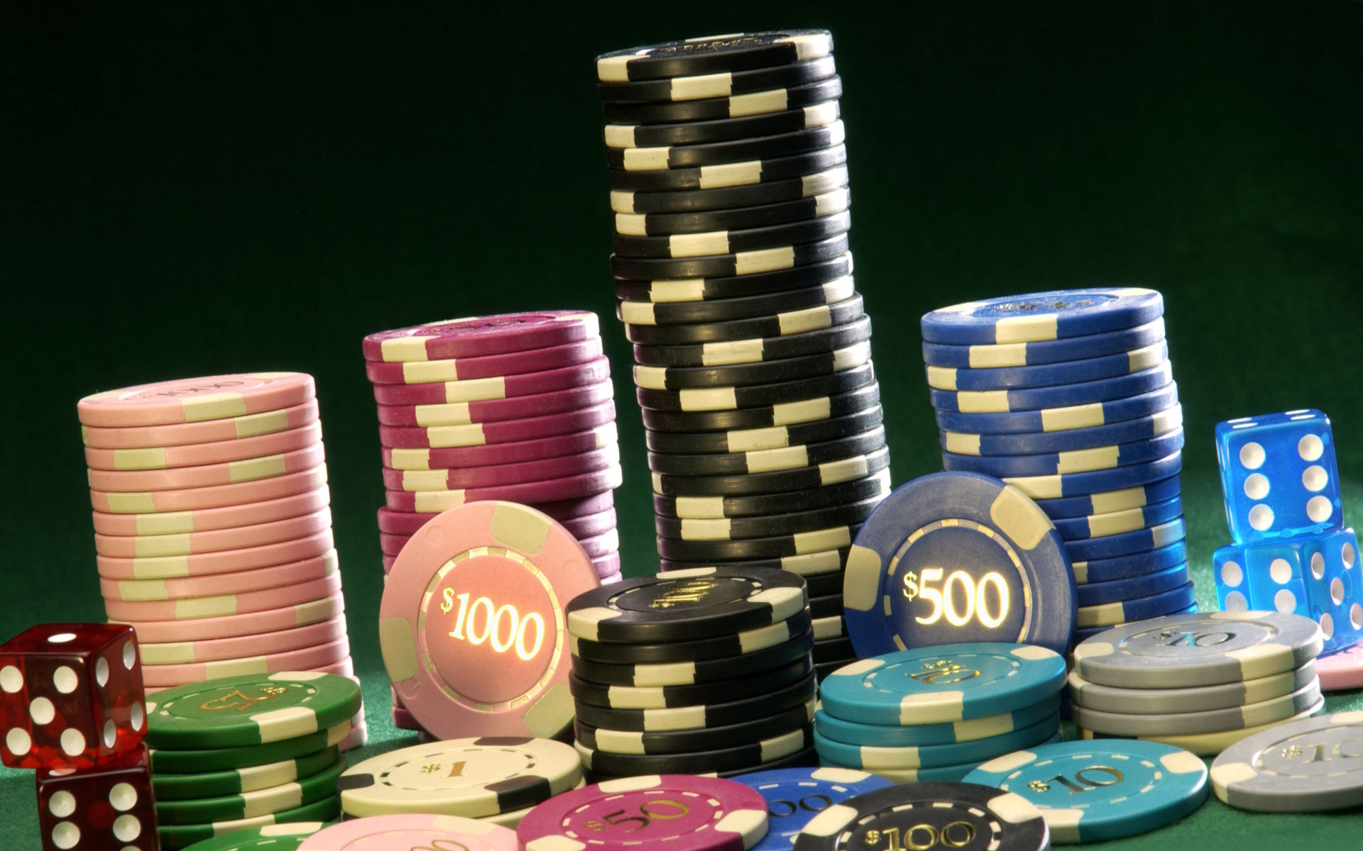 Download the Stack of Poker Chips Wallpaper, Stack of Poker Chips ...