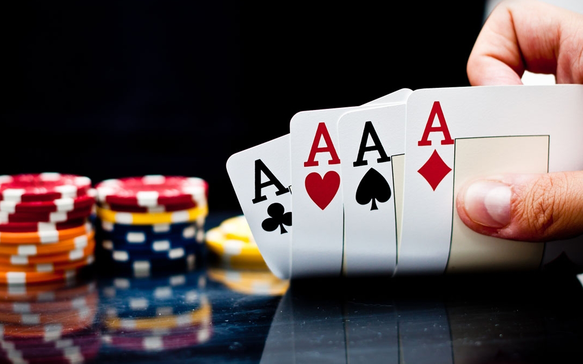 Poker night photo
