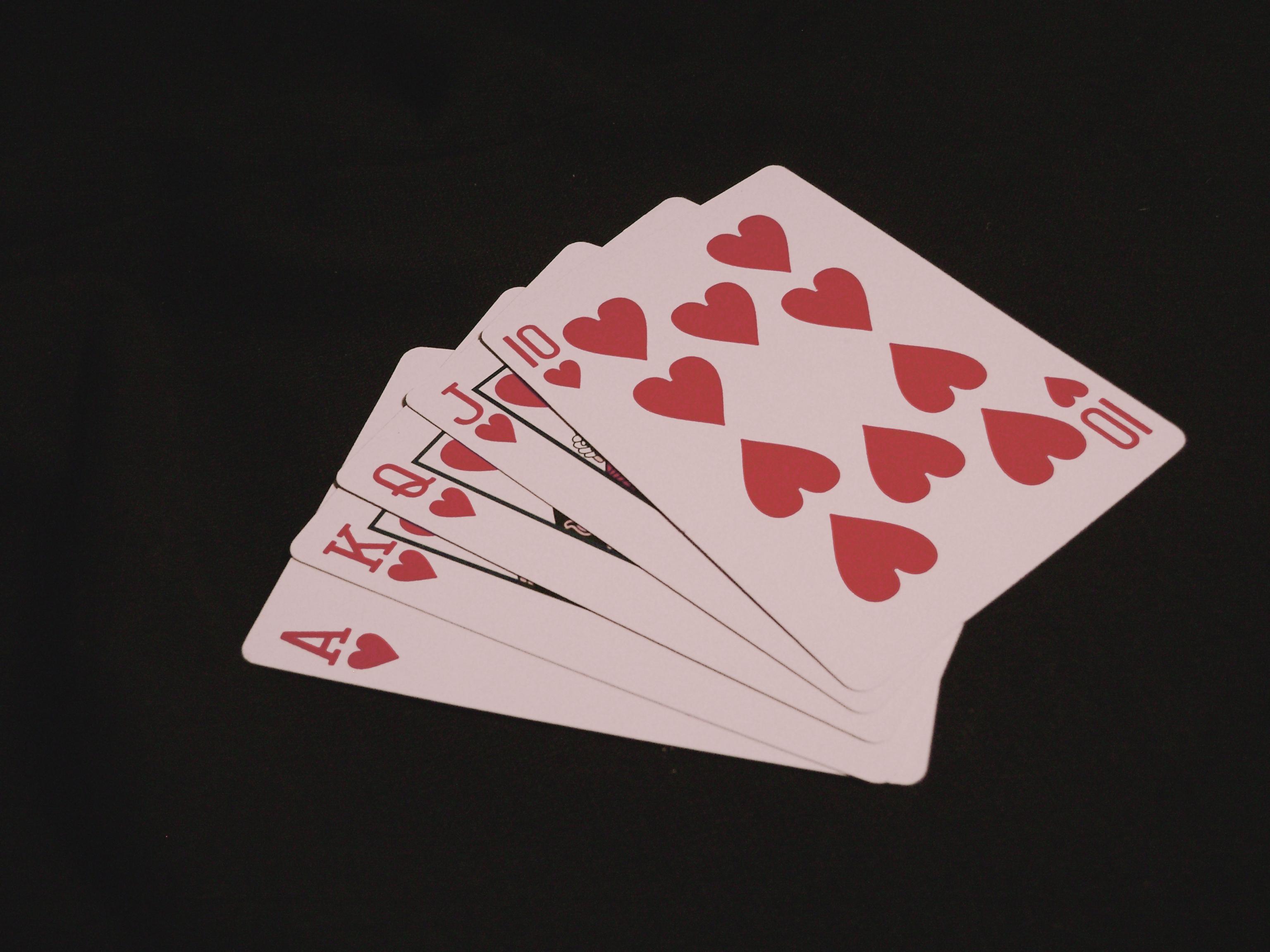 Poker Night, Cards, Flush, Gambling, Games, HQ Photo