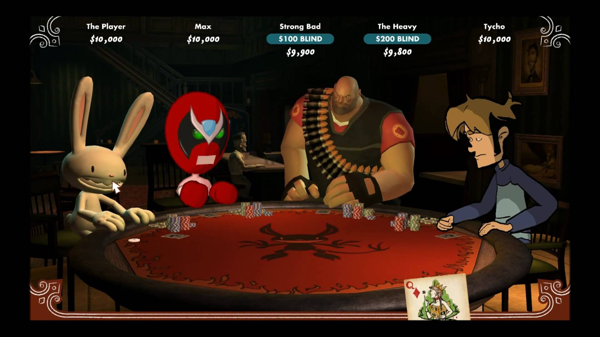 Poker Night at the Inventory gameplay - YouTube