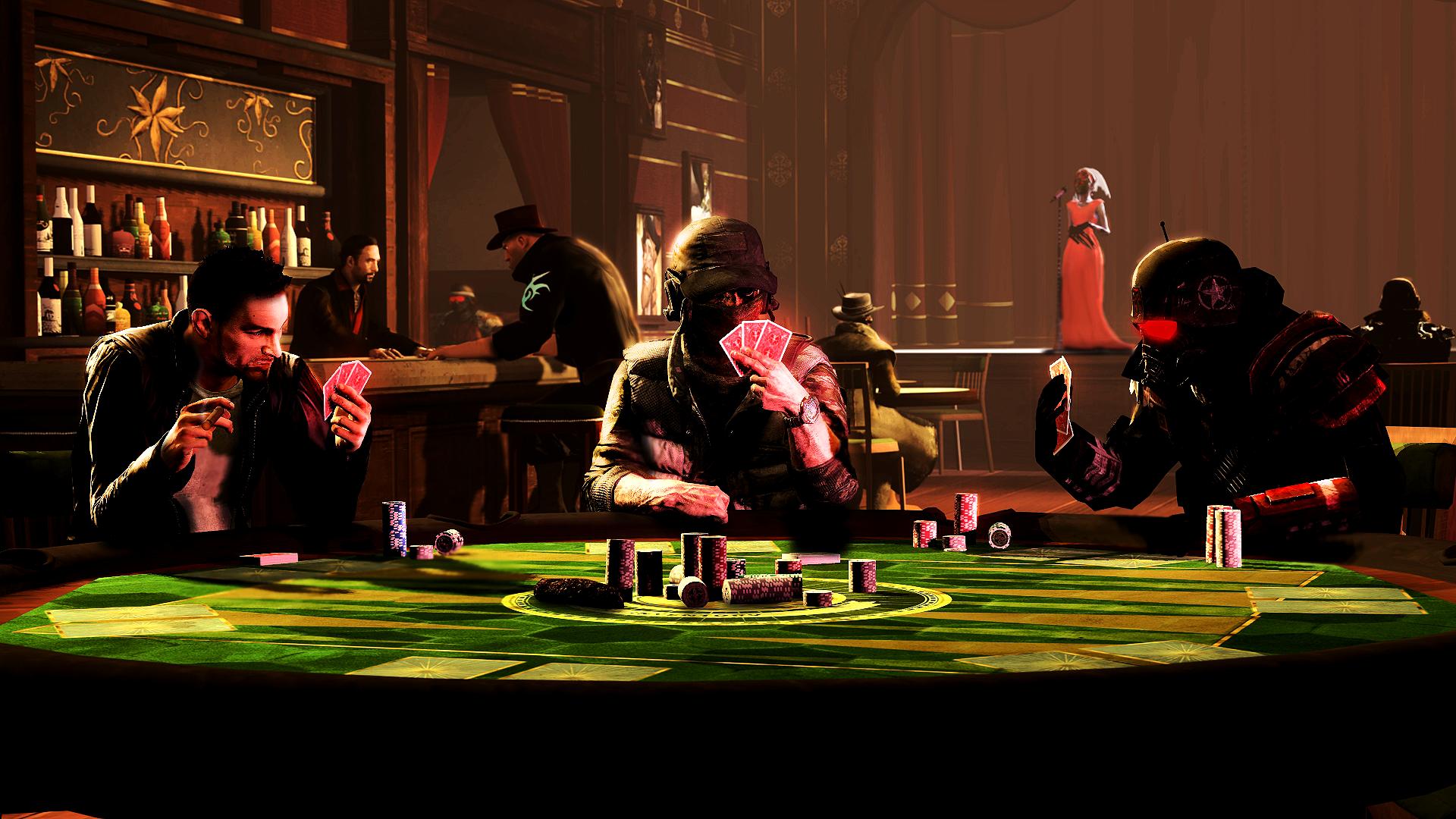 Poker Night by WitchyGmod on DeviantArt