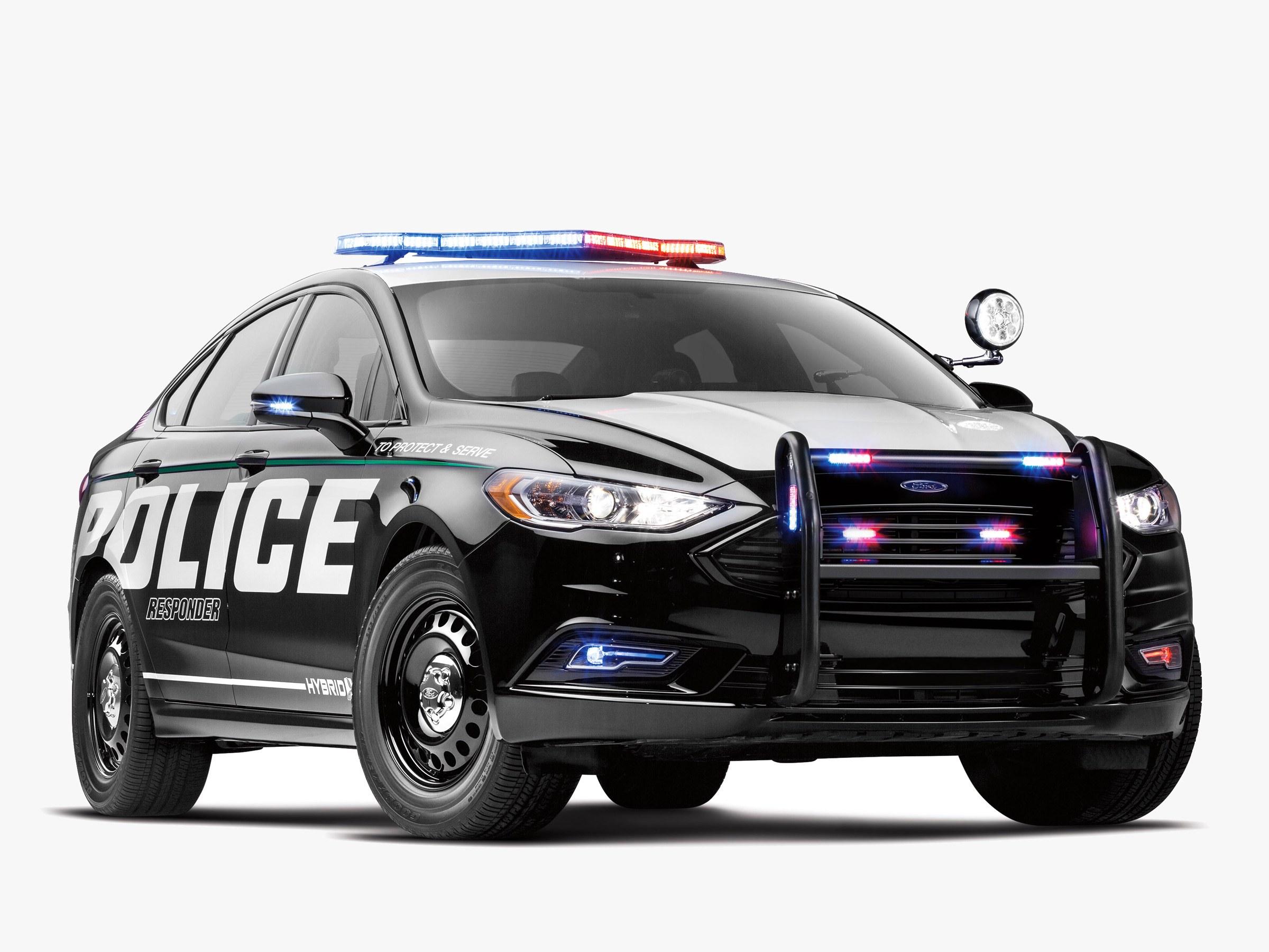 Ford's First Hybrid Cop Car—The Police Responder Hybrid Sedan | WIRED