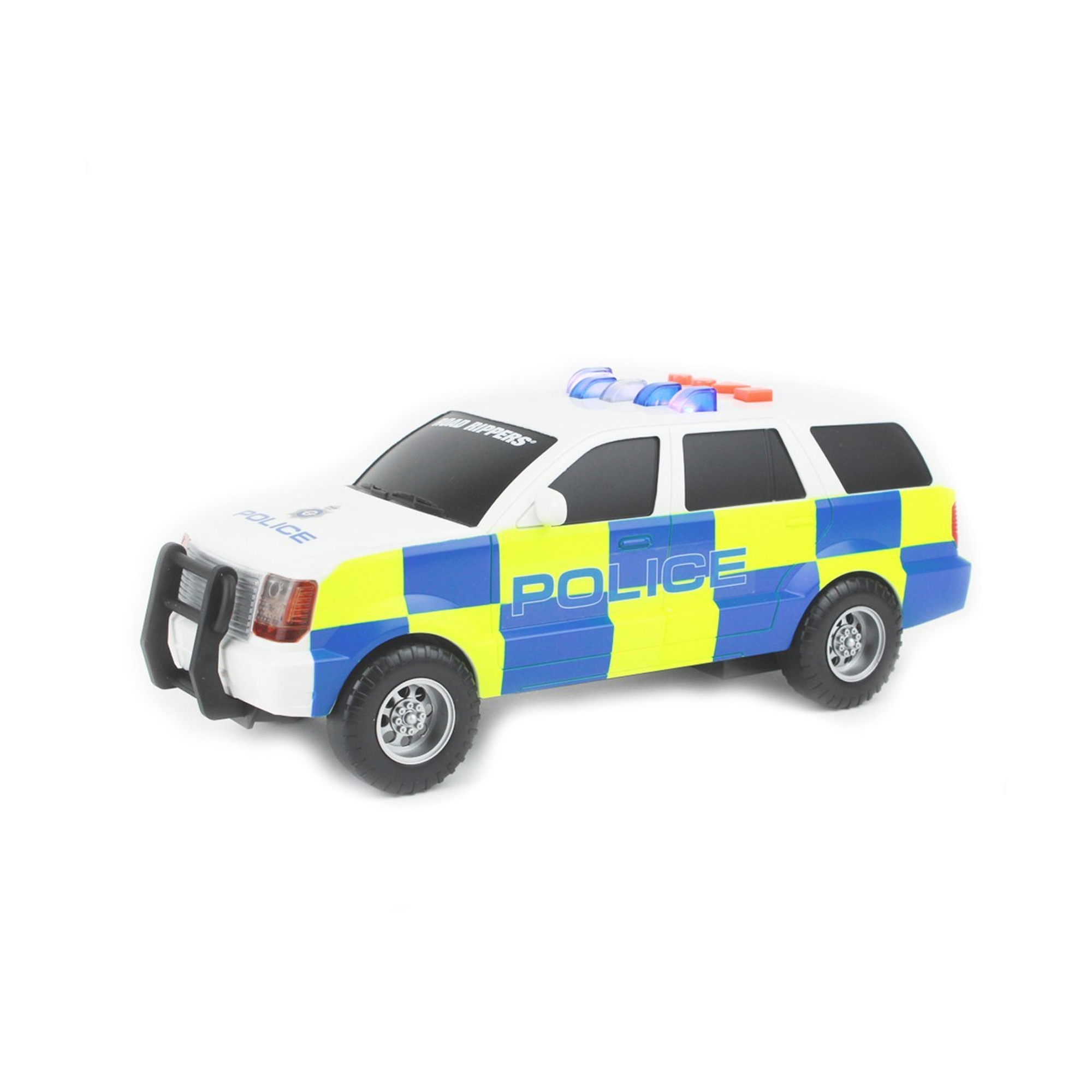 Motorised Police Car Toy - Large -