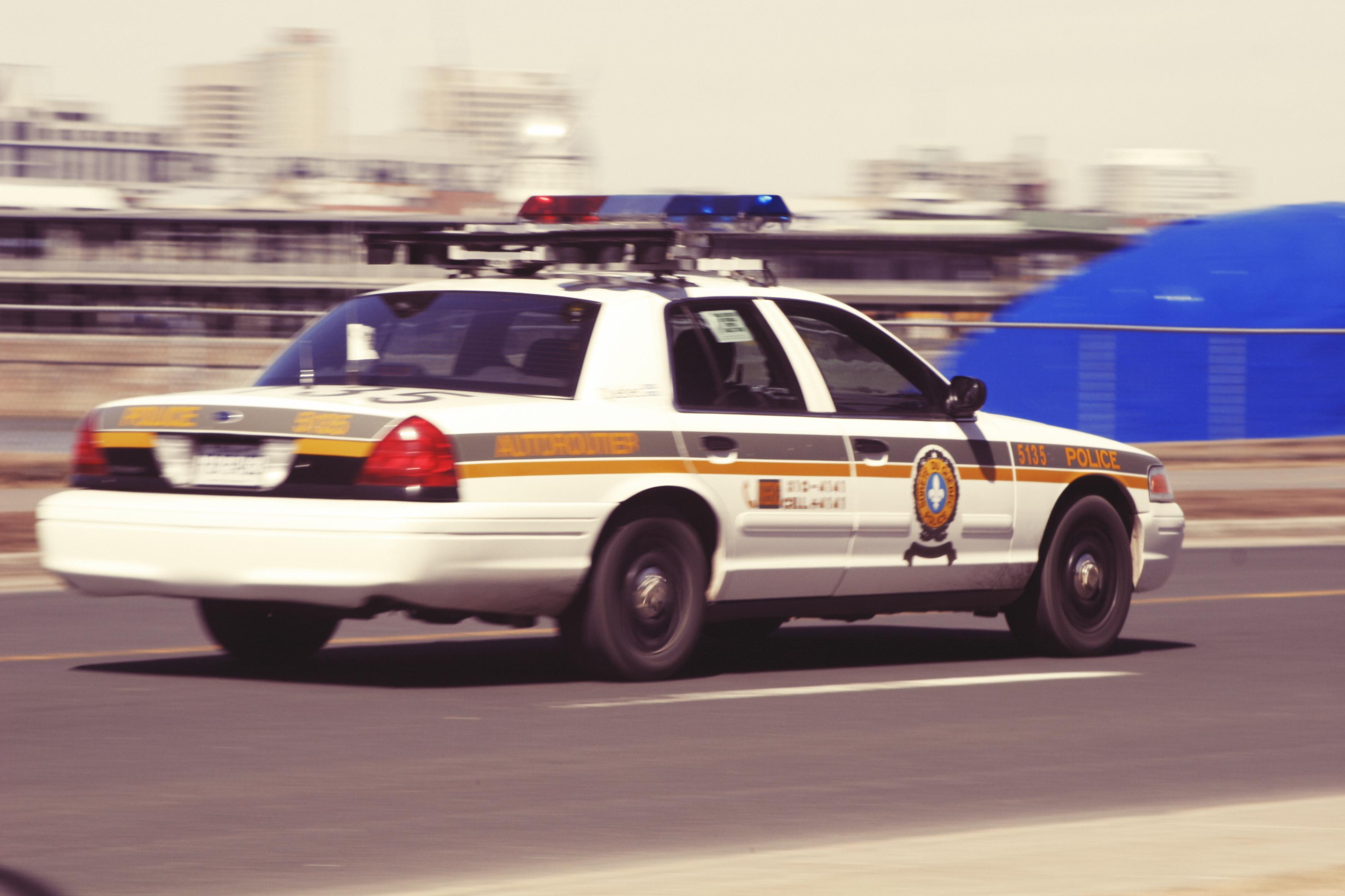 Police Car, Car, Cop, Police, Road, HQ Photo