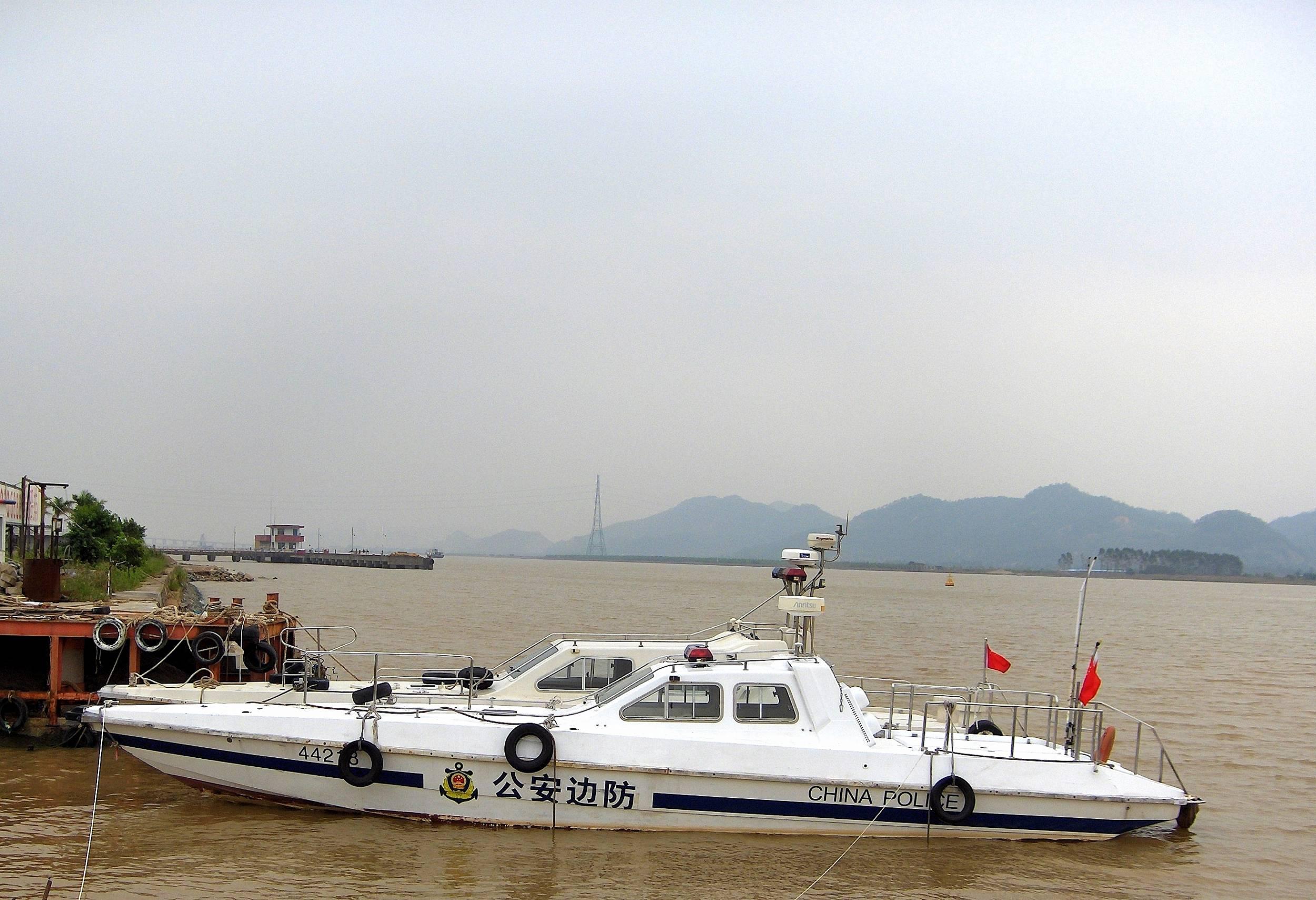 Chinese Police SpeedBoat | Boat Design Net