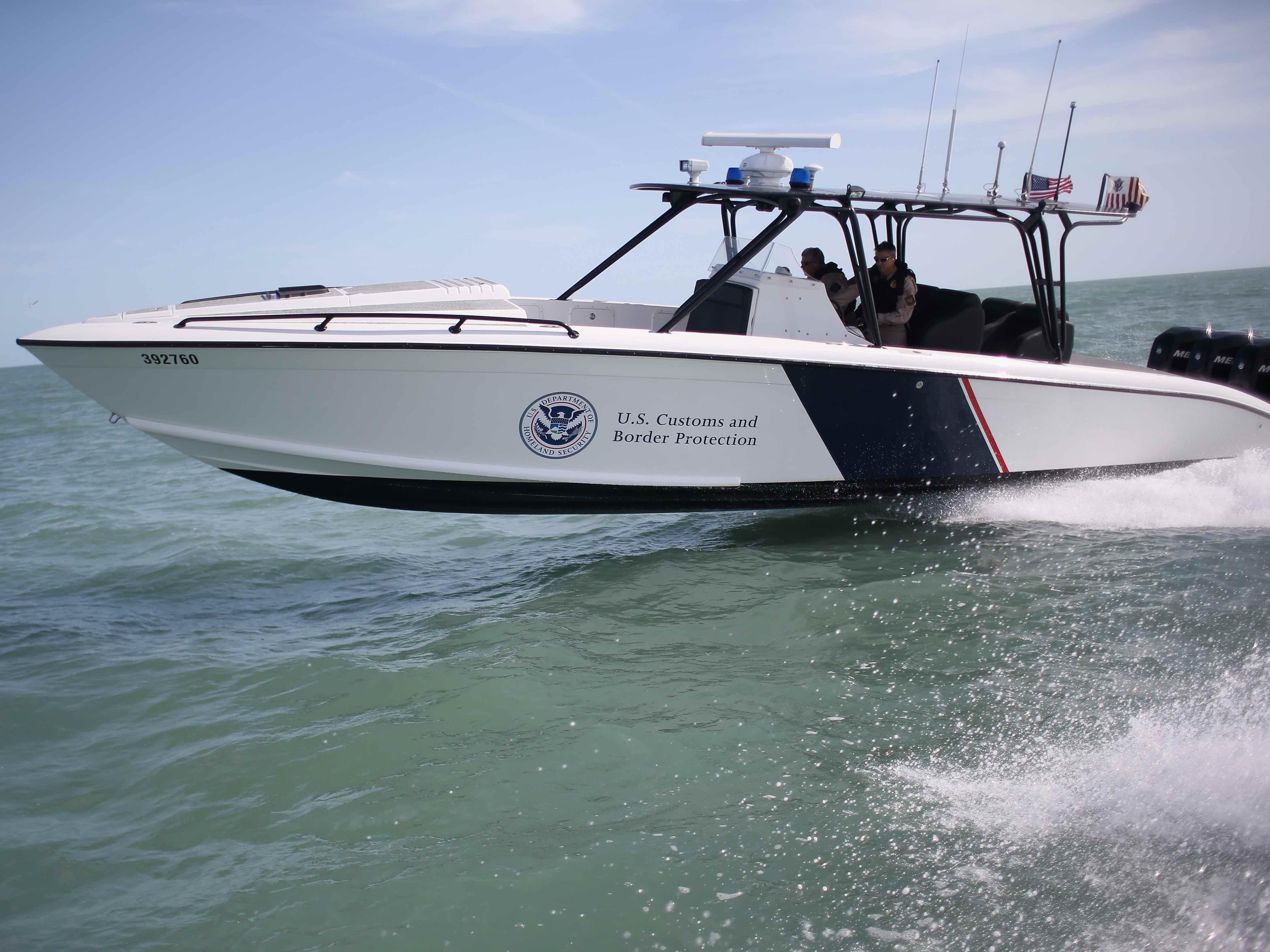 One Dead In Crash Between Illegal Alien Boat, Border Patrol ...