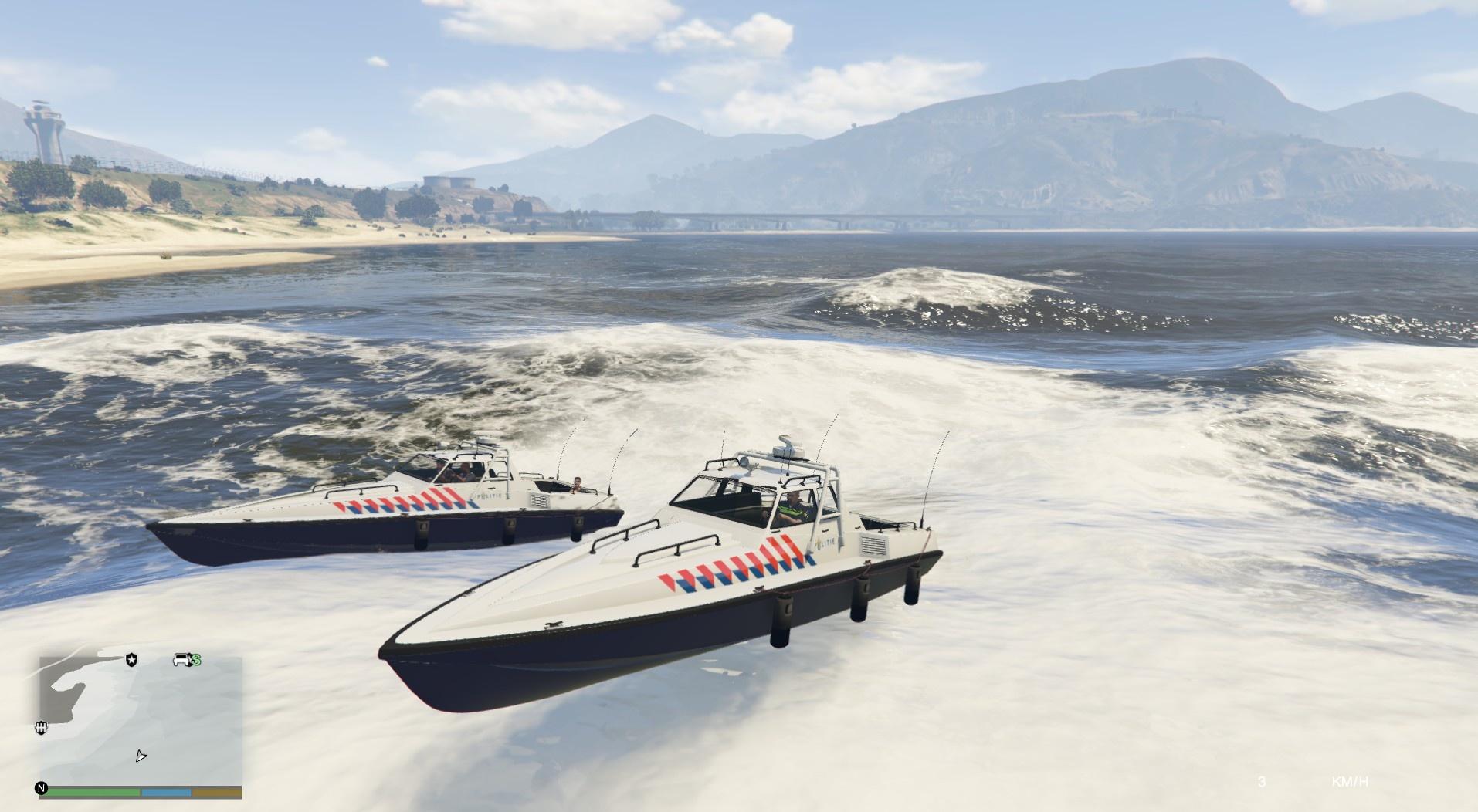 Dutch police boat - GTA5-Mods.com