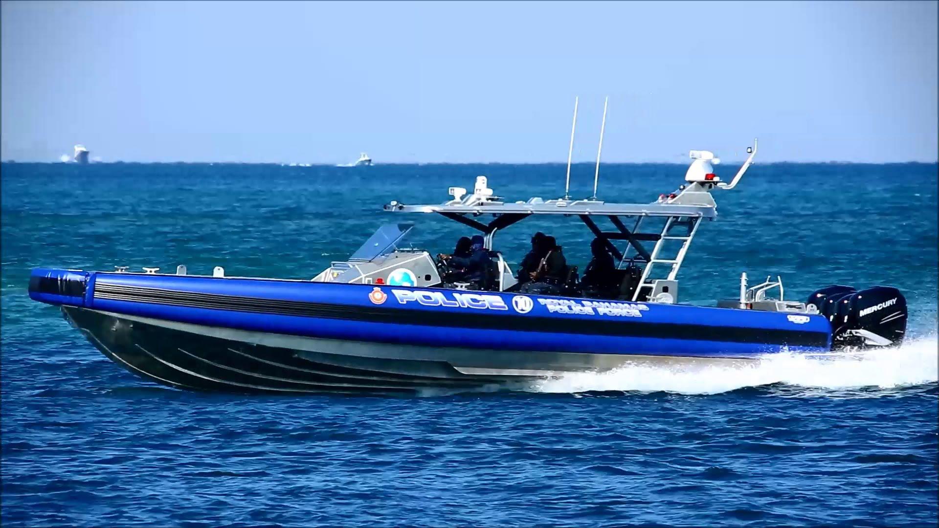 SAFE Boats 41' Apostle | Royal Bahamas Police Force - YouTube