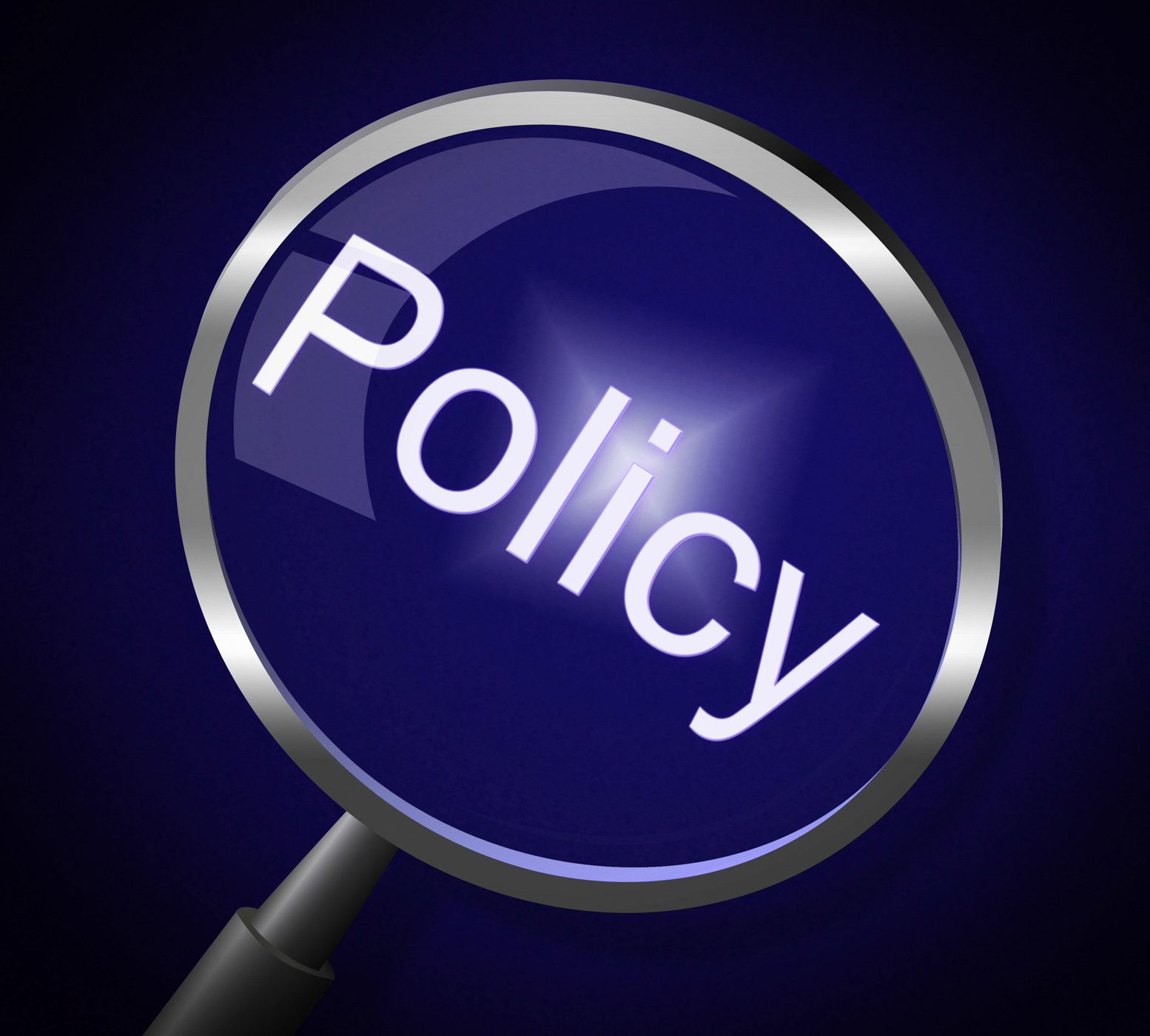 Policy Magnifier Shows Documentation Legal And Procedure, Agreement, Policy, Searching, Searches, HQ Photo