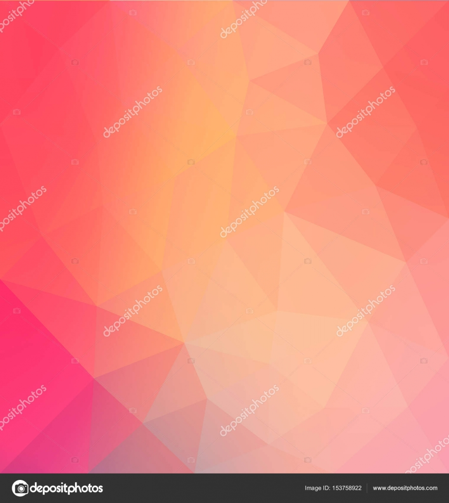 Colorful polygon background. Abstract polygonal mosaic background ...