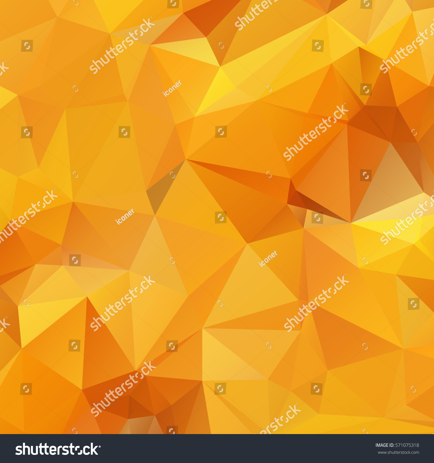 Polygonal mosaic background photo