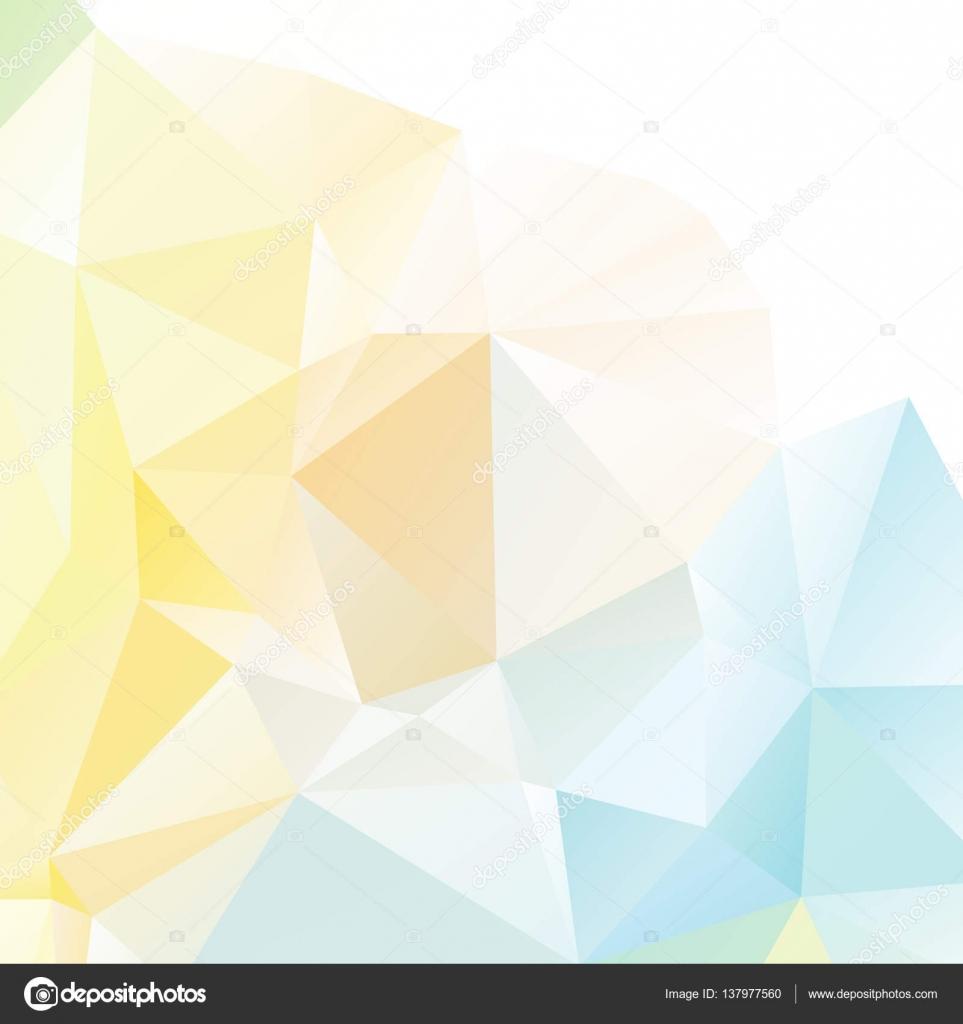 pastel polygonal Mosaic background — Stock Vector © madozi #137977560