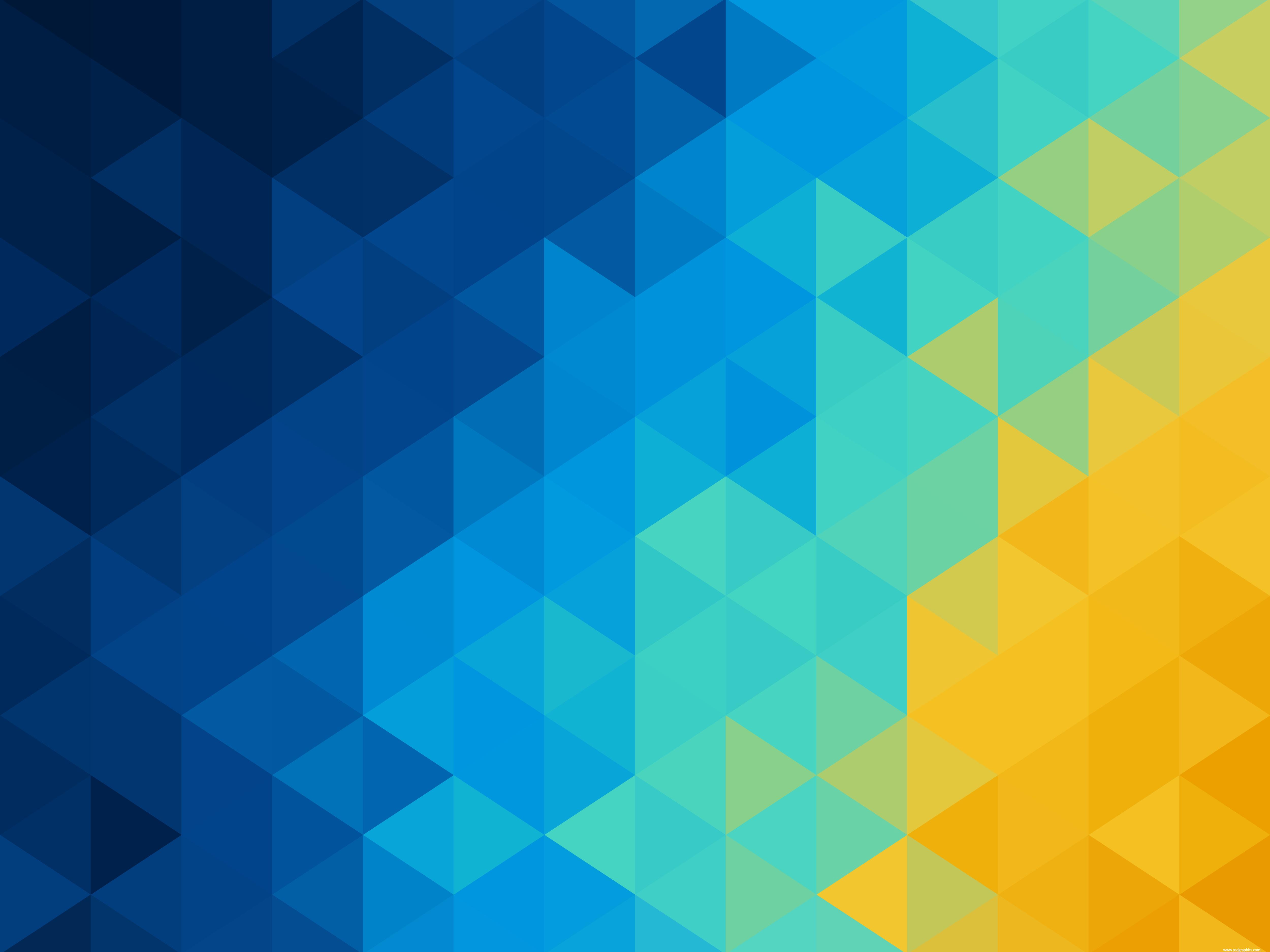 Yellow geometric background photo