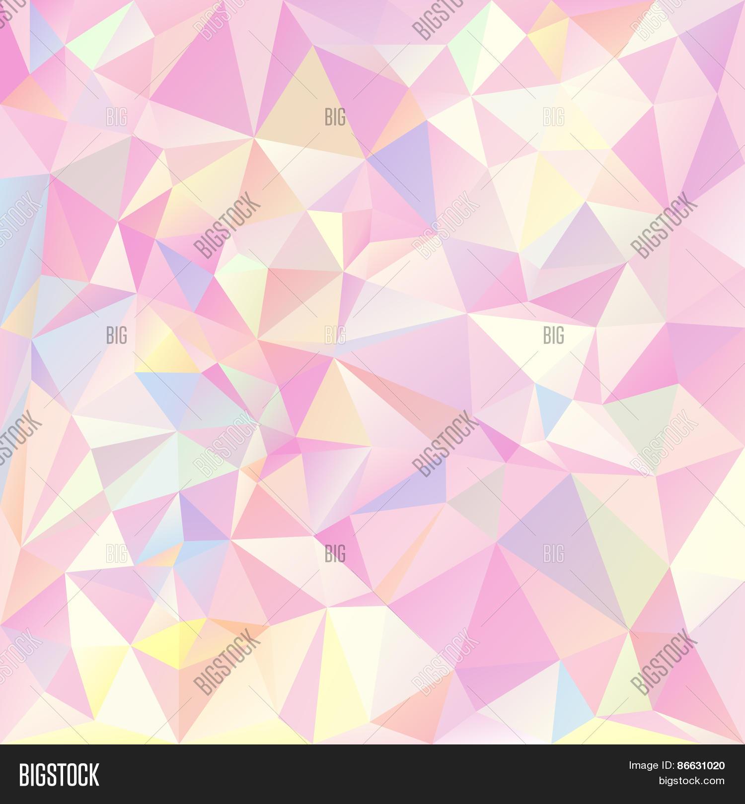 Vector Polygonal Background Vector & Photo | Bigstock