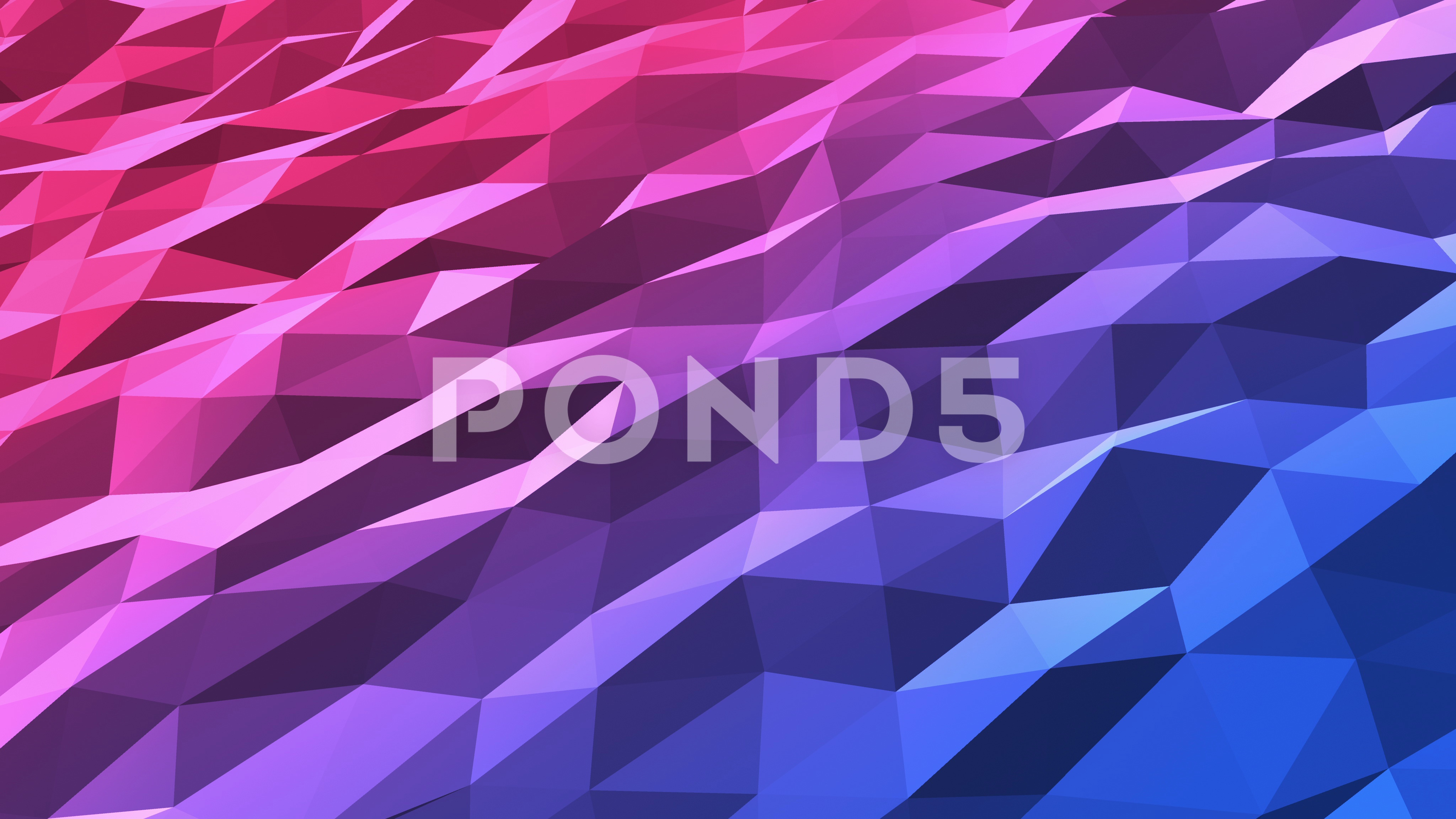 Multicolored Polygons Low Poly Seamless Looping Motion Background 4K ...