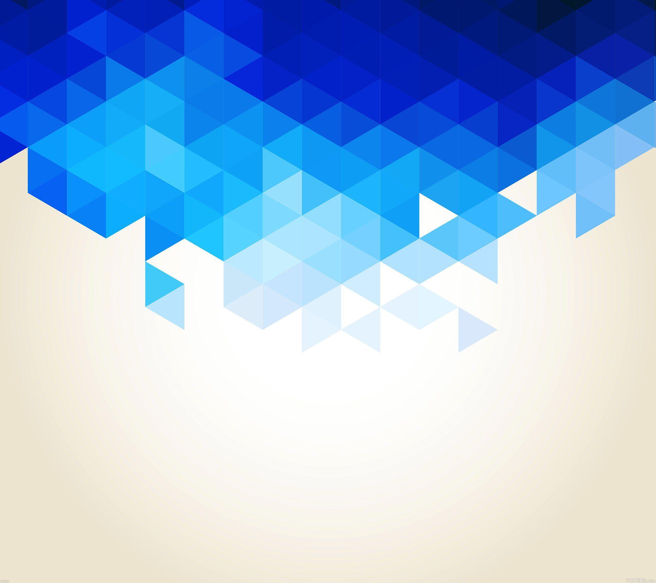 wallpaper-va91-wallpaper-triangle-fall-blue-pattern | Wallpaper and ...