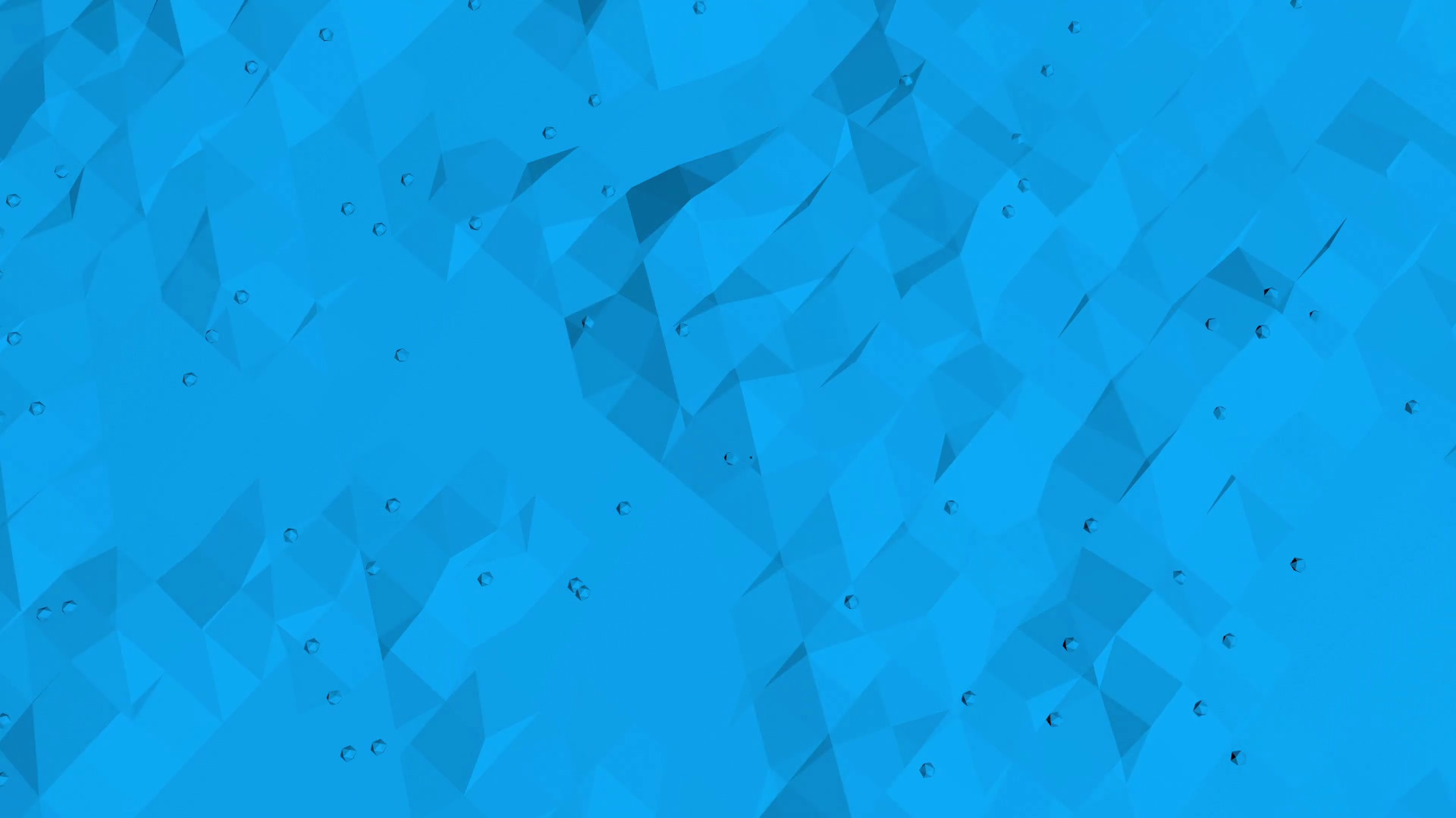 Blue low poly vibrating surface as simple backdrop. Blue polygonal ...