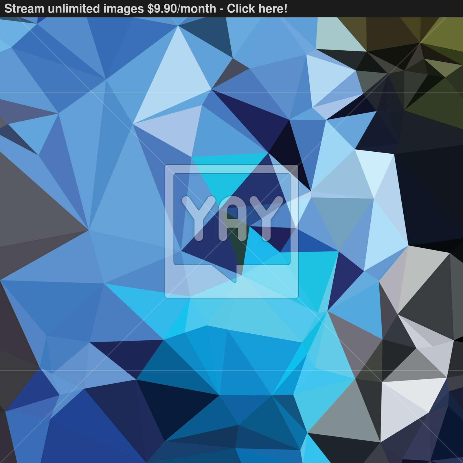 Air Force Blue Abstract Low Polygon Background vector | YayImages.com