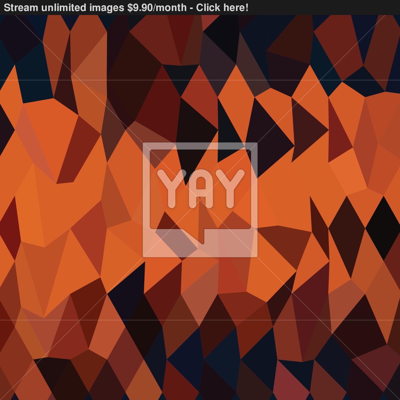 Orange Geometric Low Poly Vector Background Download Umtsver.Orange ...