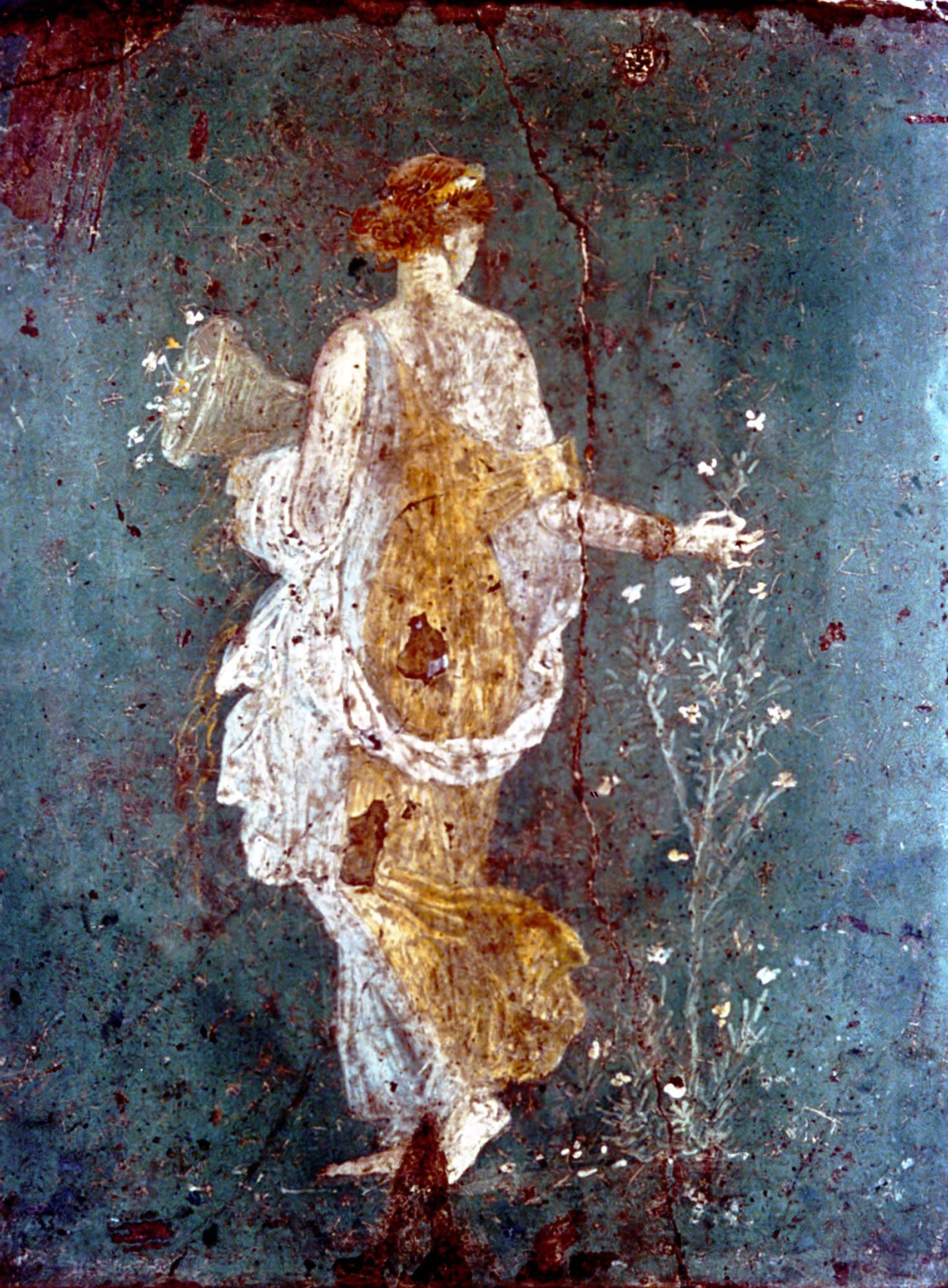 Pompei paintings photo