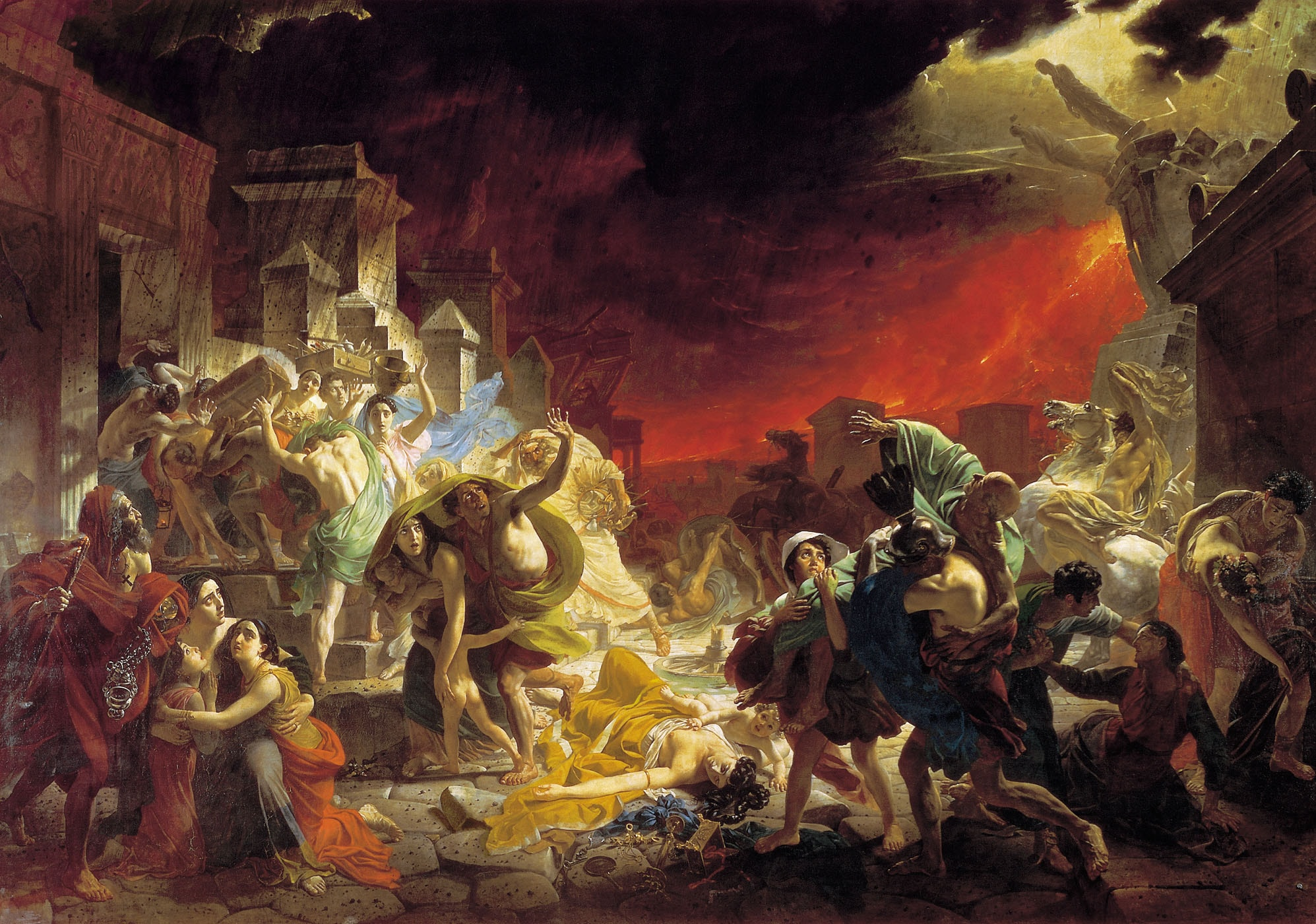 History of a Painting: 'Last Day of Pompeii' by Karl Bryullov