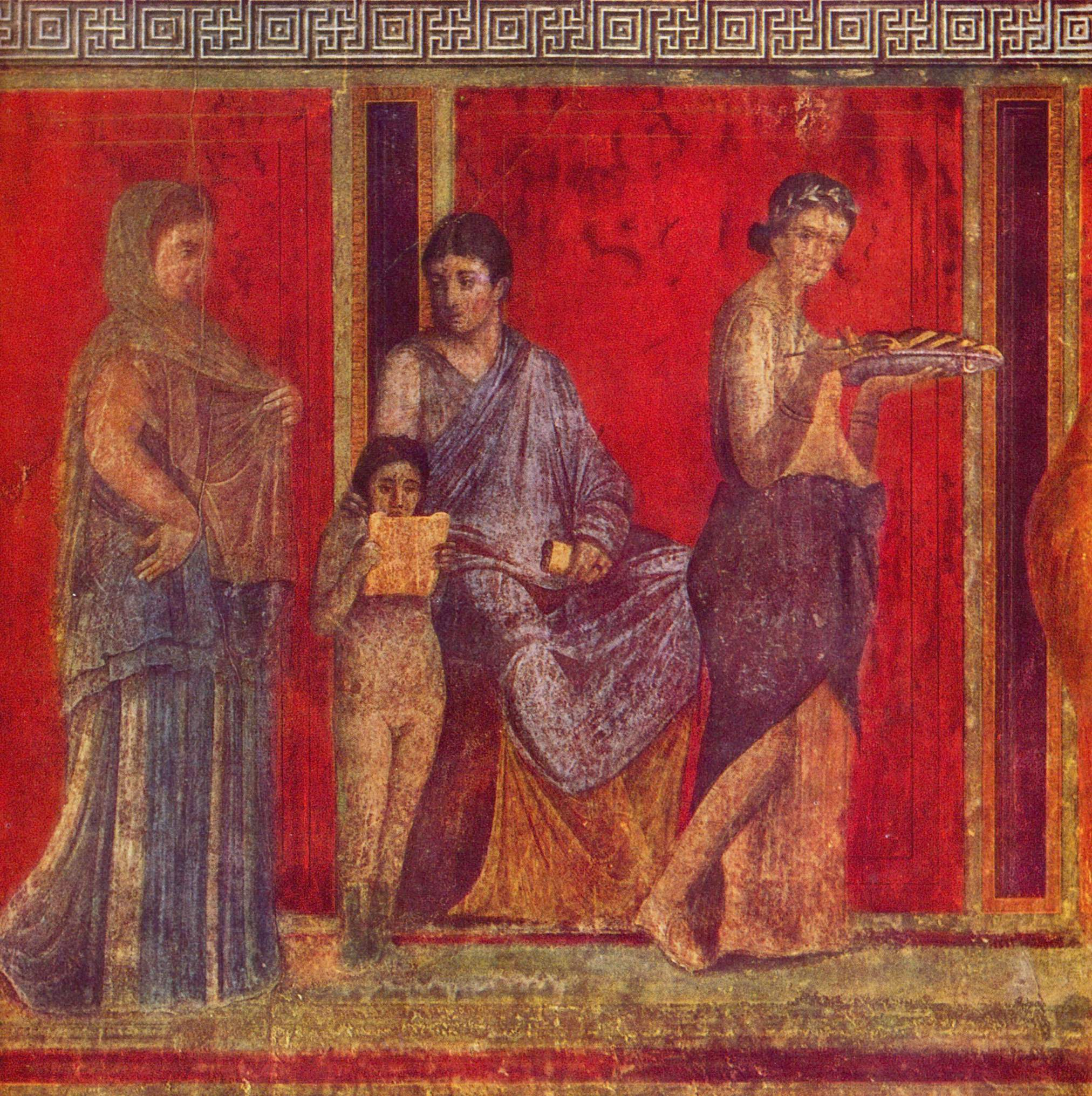 Make a Toga out of a Bedsheet | Pompeii, Fresco and Villas