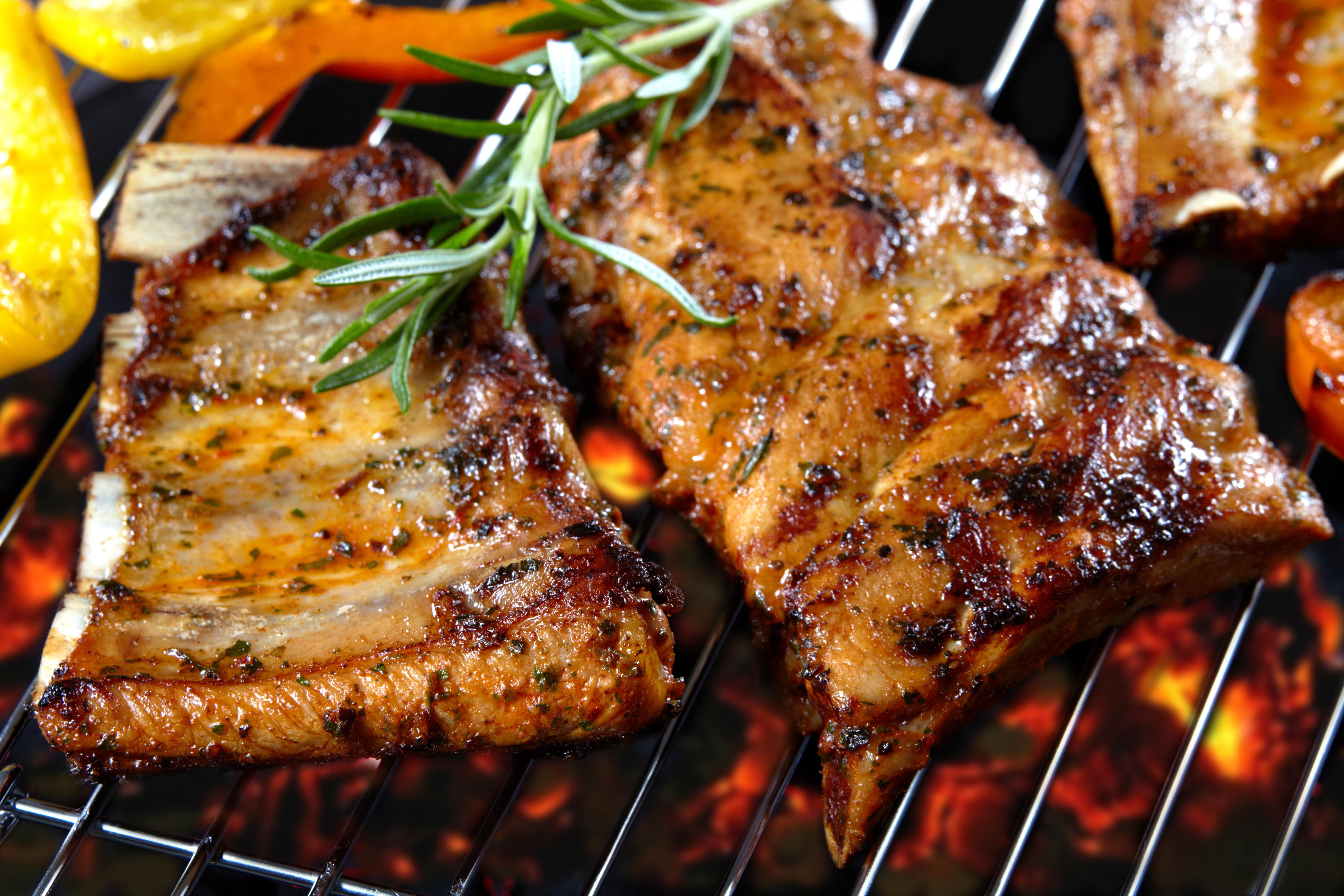 Pork grilling photo