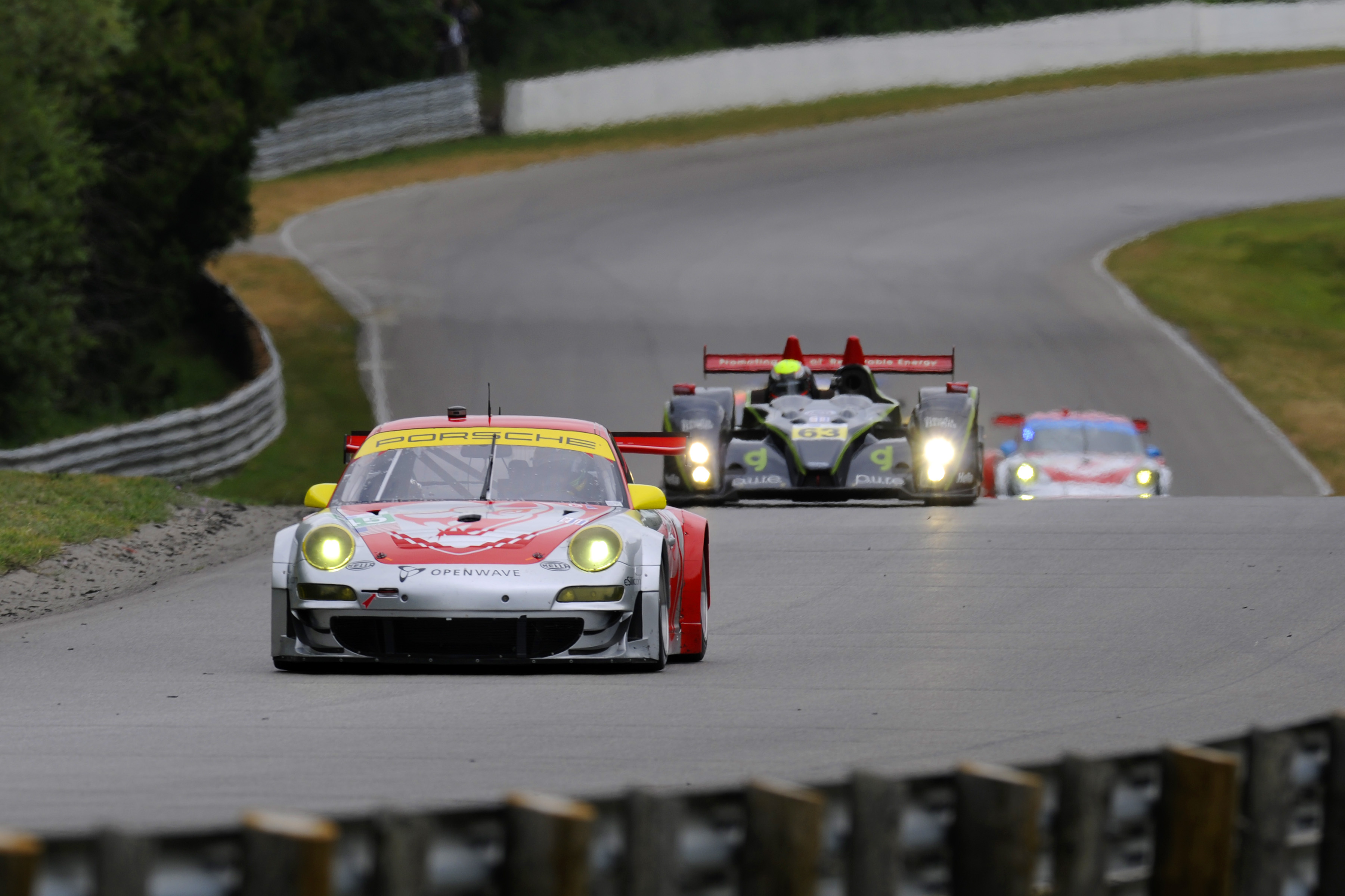 American Le Mans Series, rd 4 in Mosport/Canada-Best Porsche 3rd on ...