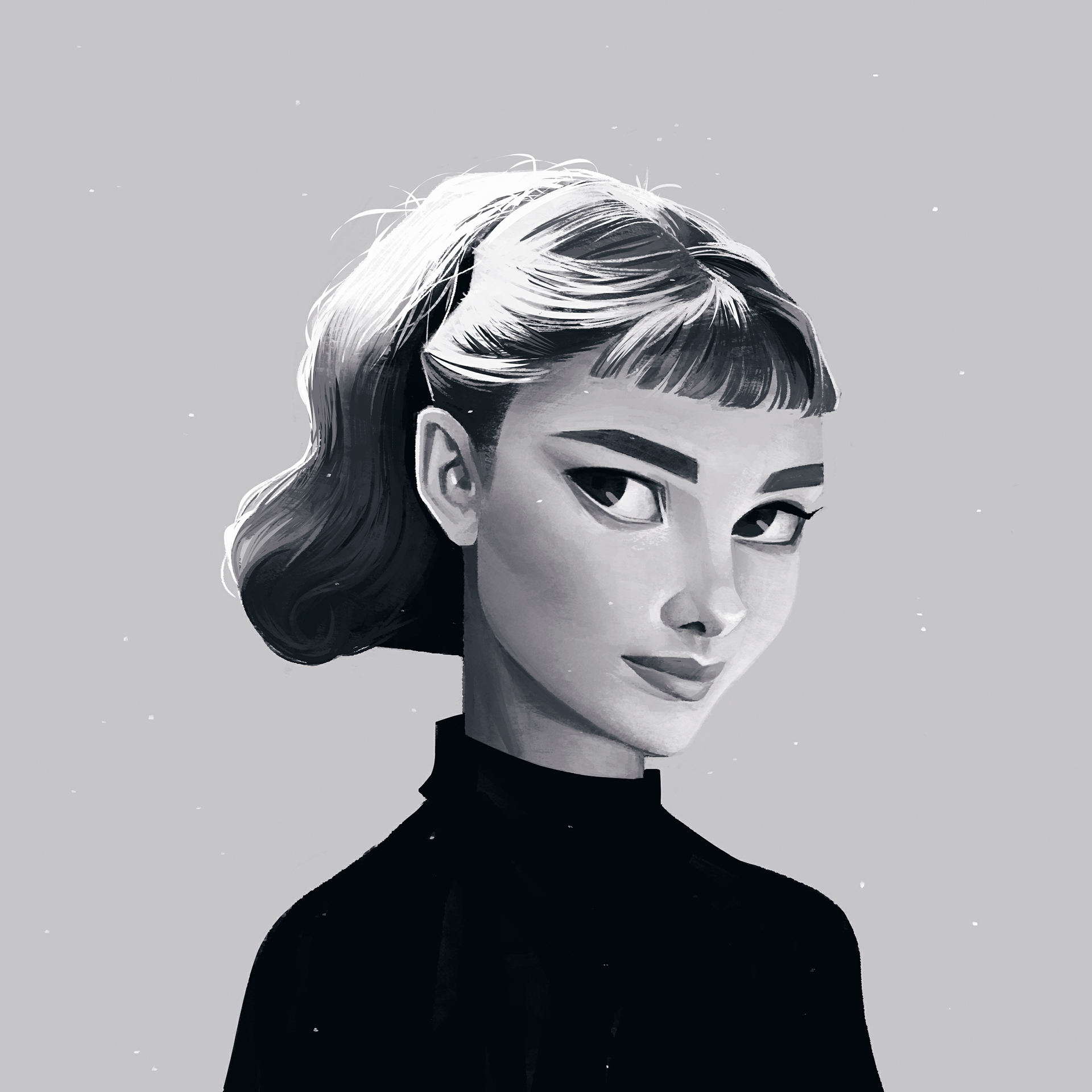 Voguish Portrait Illustrations by Janice Sung - paul-stafford.com
