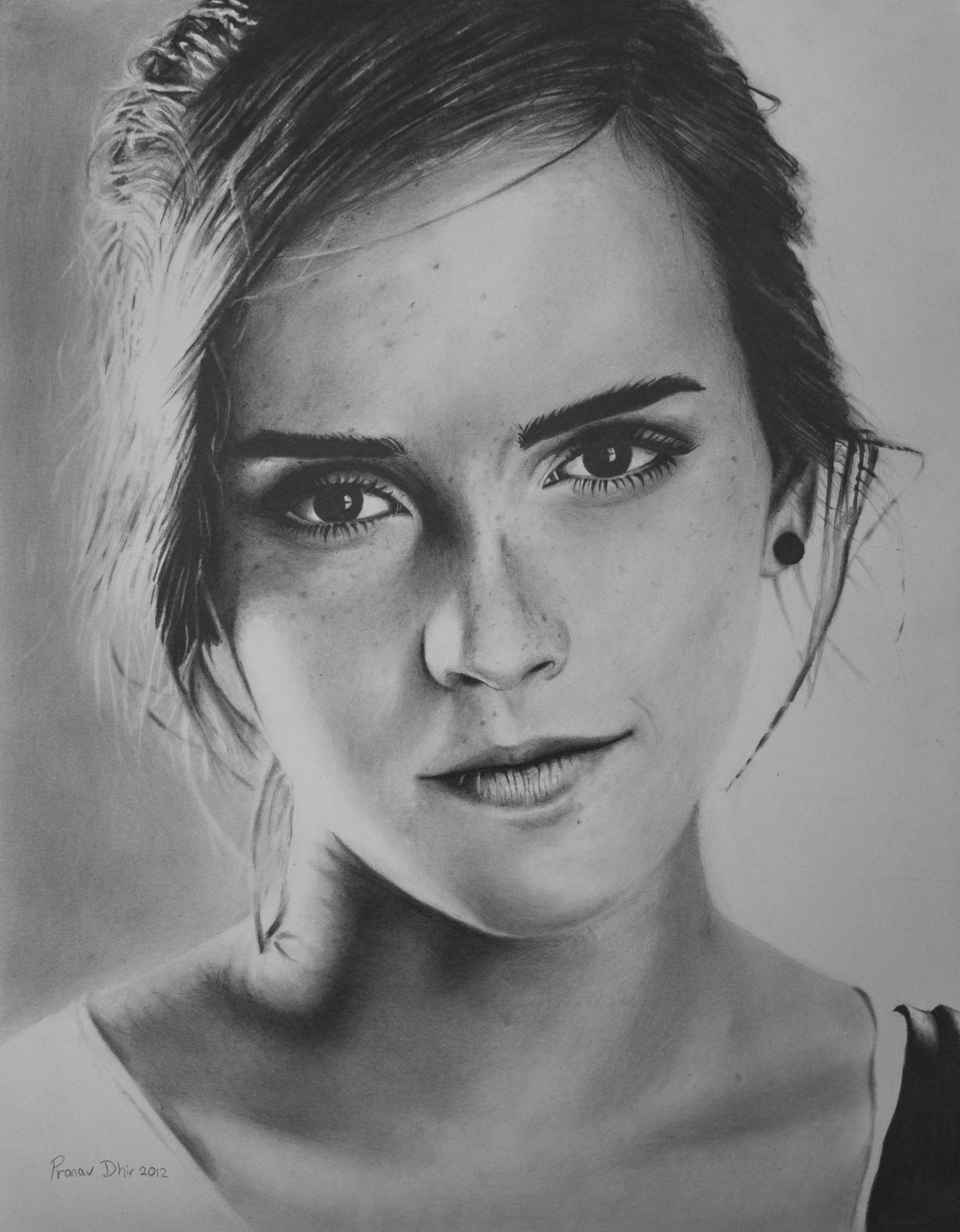 Emma Watson Portrait by prod44 on DeviantArt