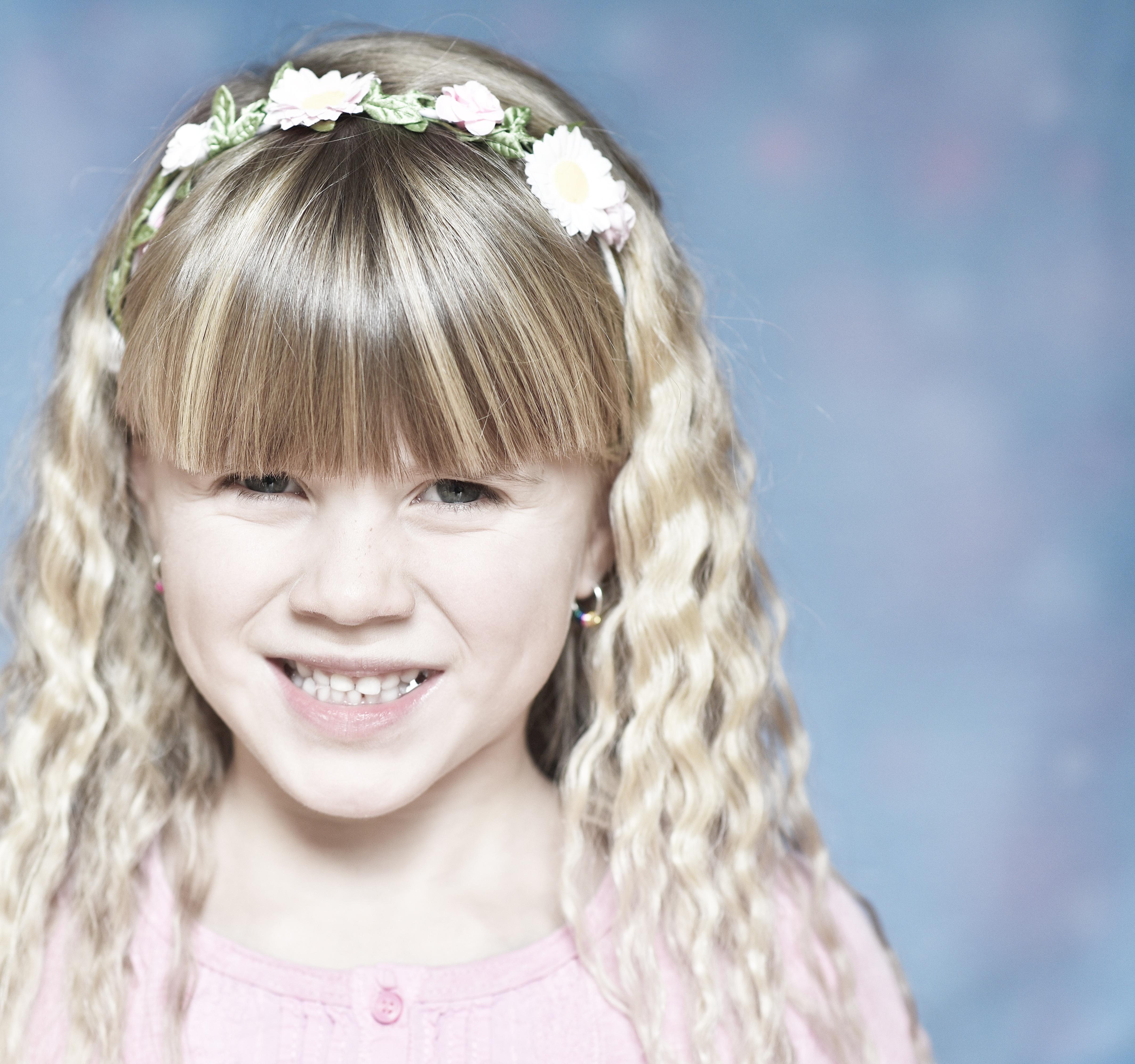 Portrait, Blonde, Child, Girl, Little, HQ Photo